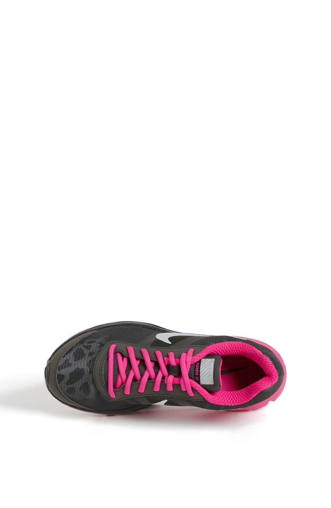 Alternate Image 3  - Nike 'Air Pegasus+ 30 Shield' Running Shoe (Little Kid & Big Kid)