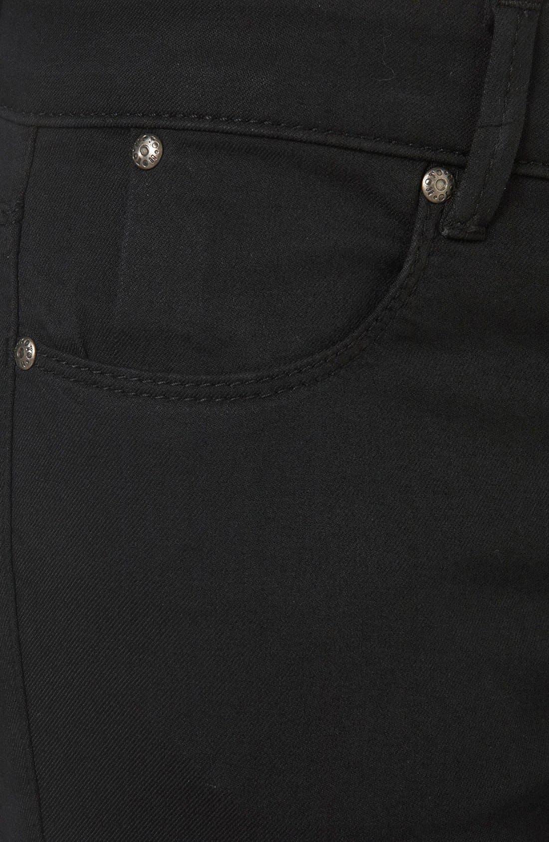 Alternate Image 5  - Topshop 'Leigh' Skinny Jeans