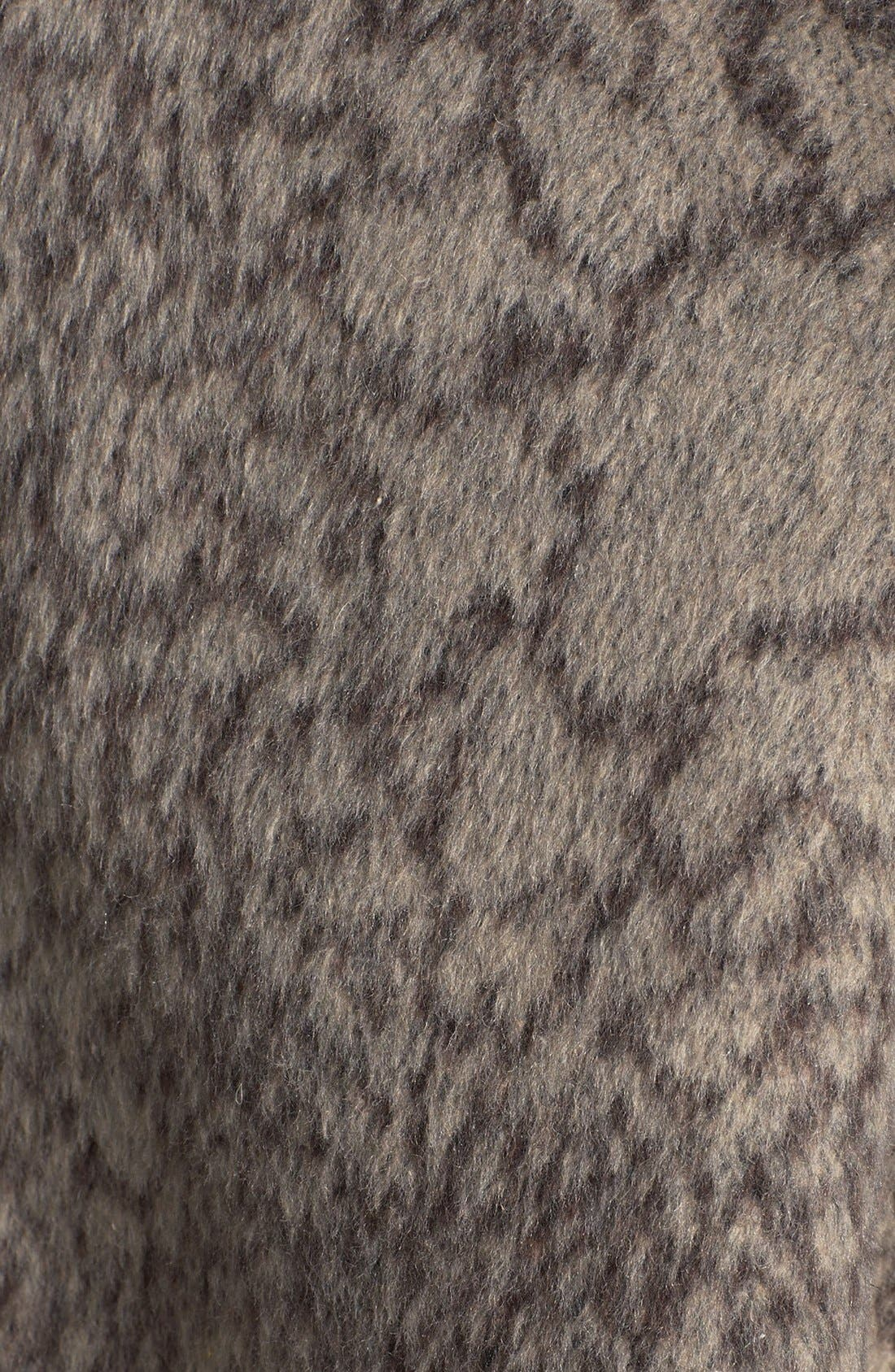 Alternate Image 3  - ASTR Print Oversized Coat