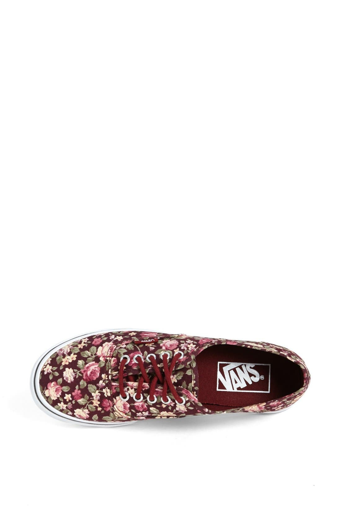 Alternate Image 3  - Vans 'Authentic Lo Pro - Floral' Sneaker (Women)