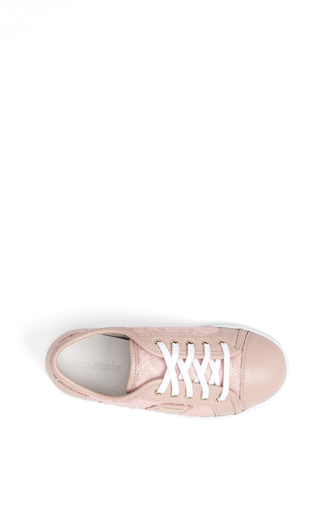 Alternate Image 3  - Dolce&Gabbana Sequin Sneaker (Toddler & Little Kid)