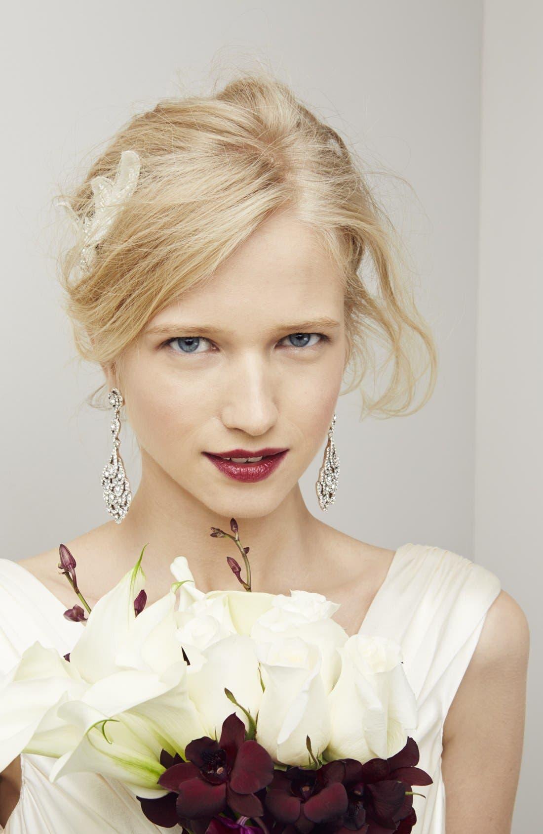 Alternate Image 4  - Untamed Petals by Amanda Judge 'Bianca' Floral Beaded Head Wrap