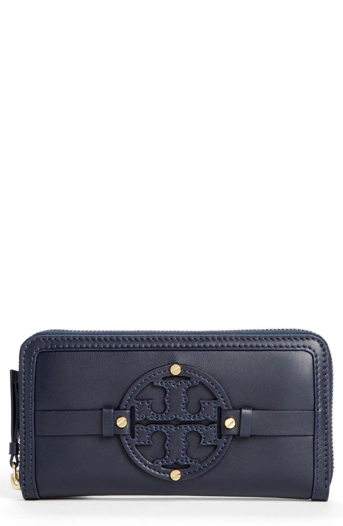 Alternate Image 1 Selected - Tory Burch 'Holly' Continental Wallet