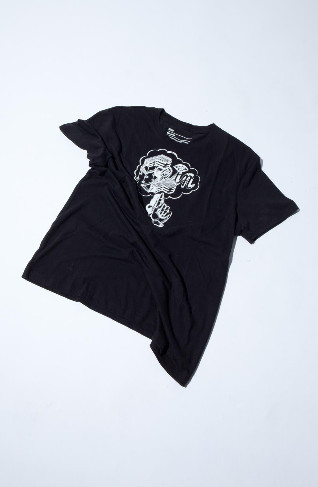 Alternate Image 2  - Halogen® French Fling Pop-In Shop T-Shirt