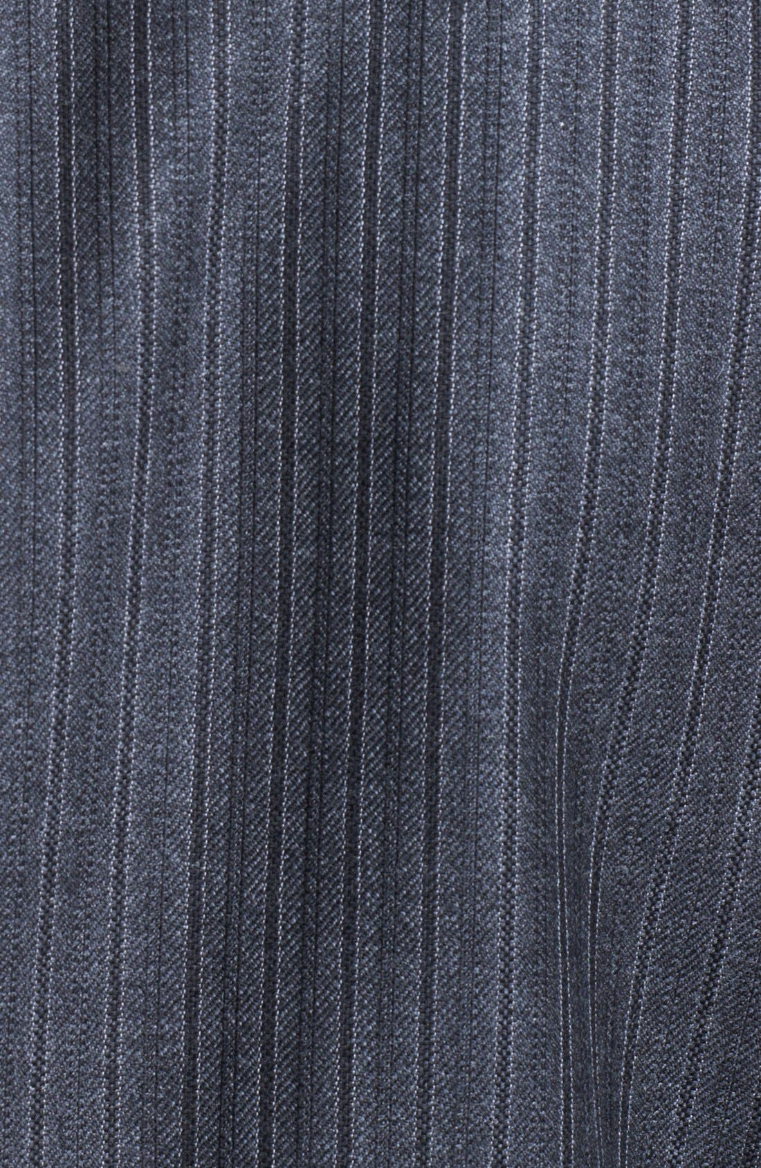 Alternate Image 7  - Burberry London Grey Stripe Wool Suit