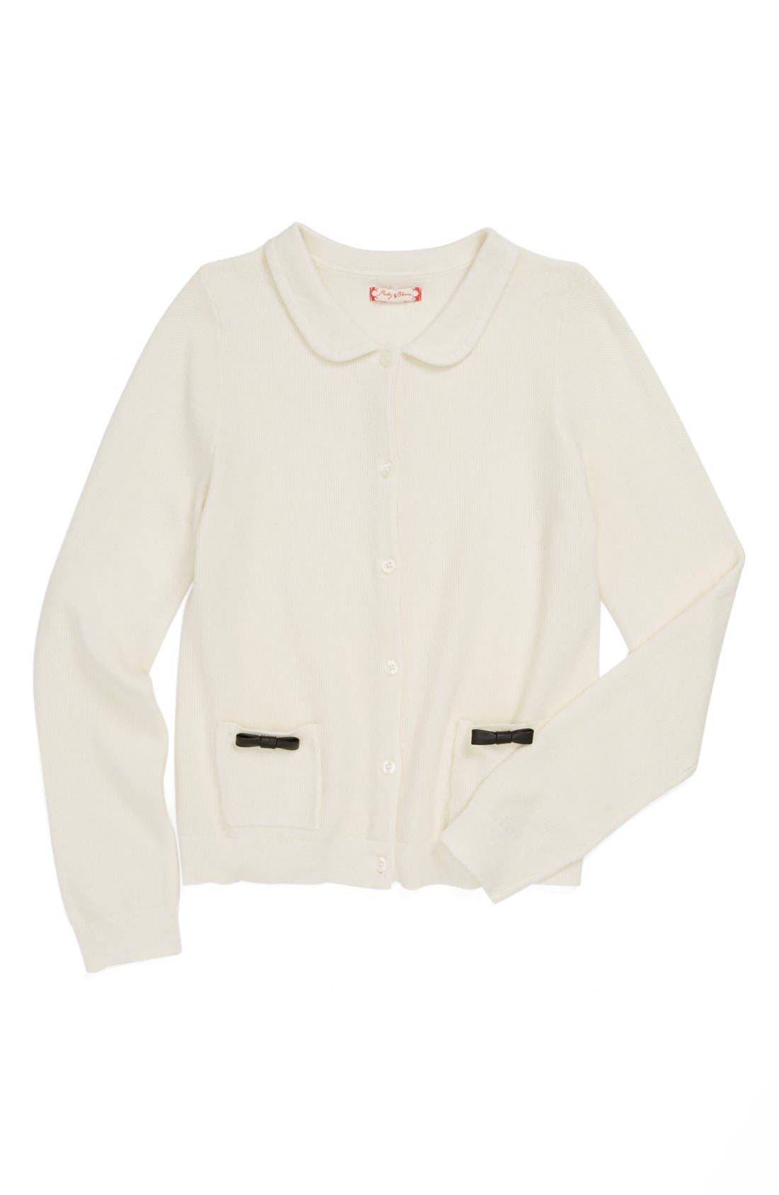 'Elissa' Cardigan,                         Main,                         color, Cream- Vanilla