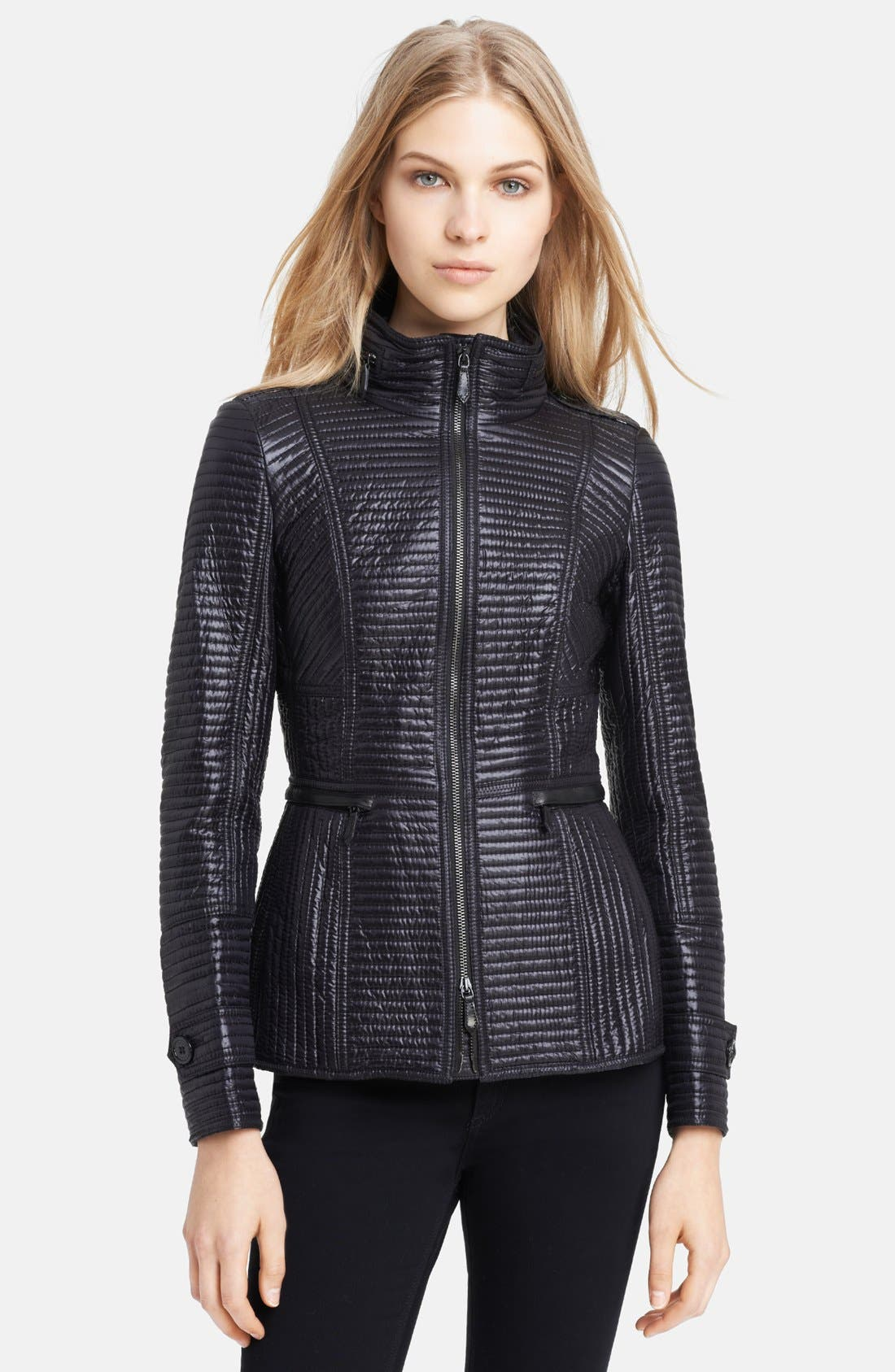 Main Image - Burberry London Quilted Puffer Jacket