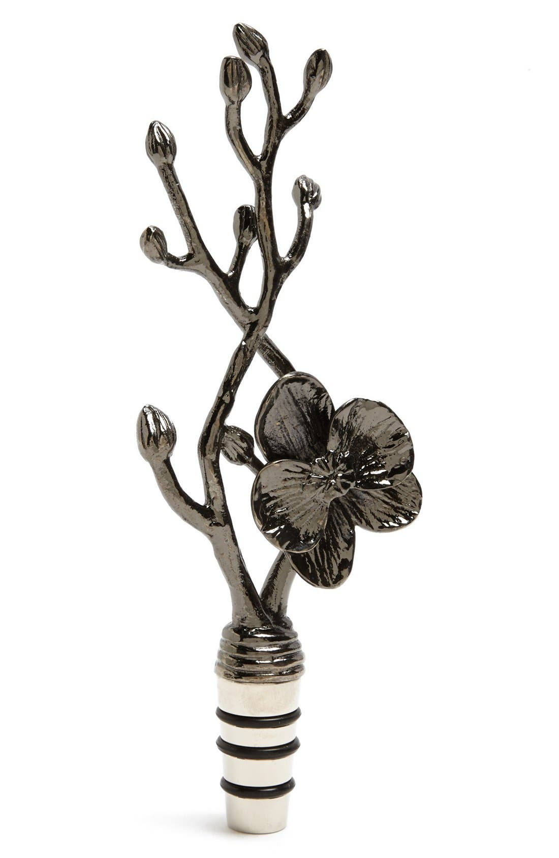 Alternate Image 1 Selected - Michael Aram 'Black Orchid' Wine Stopper
