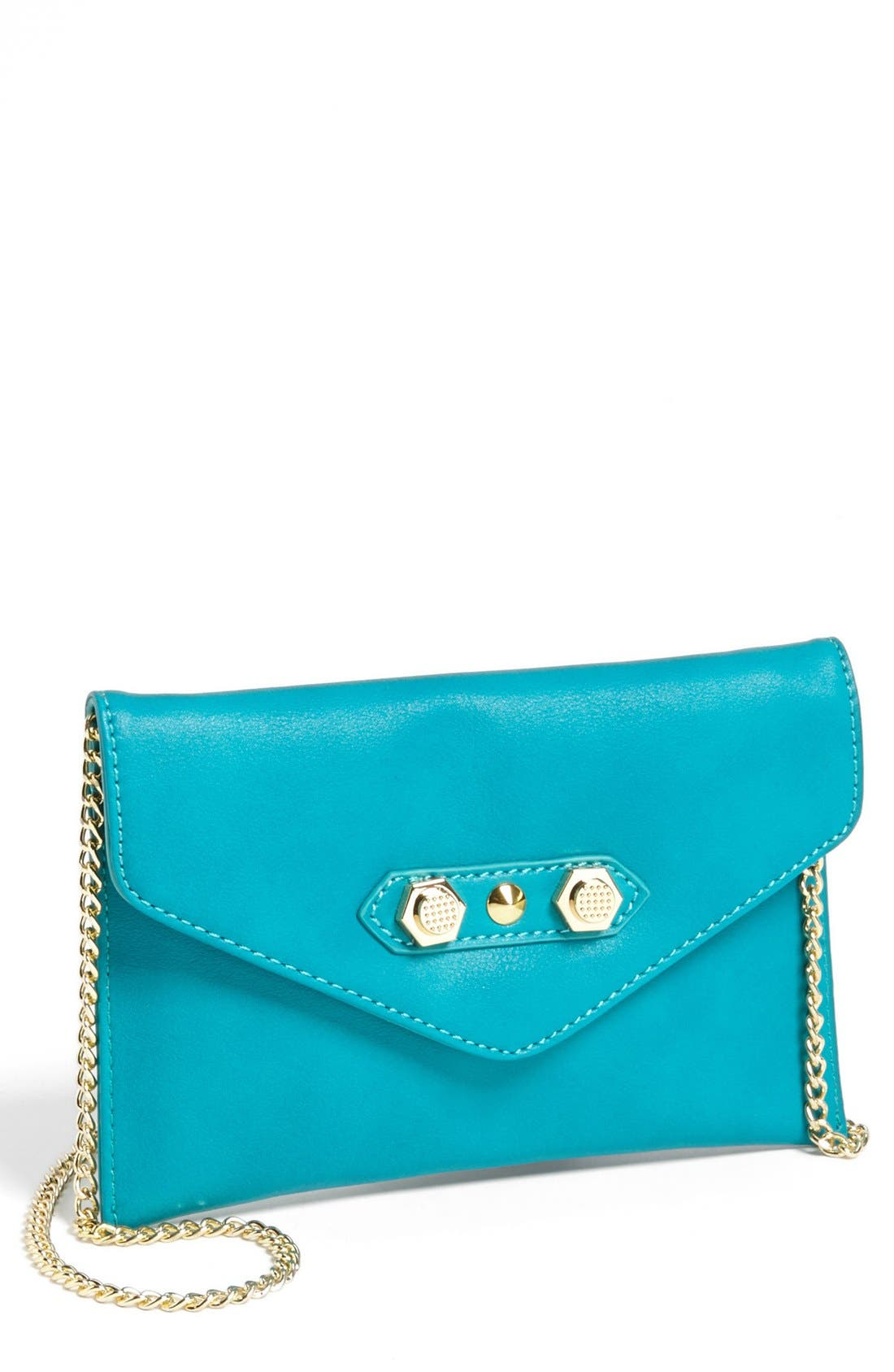 Alternate Image 1 Selected - Danielle Nicole 'Tina' Faux Leather Crossbody Pouch