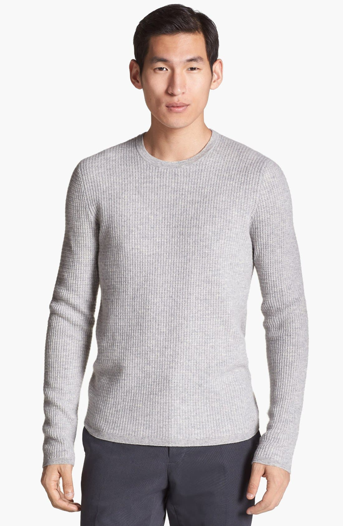 Alternate Image 1 Selected - Vince Wool & Cashmere Crewneck Sweater