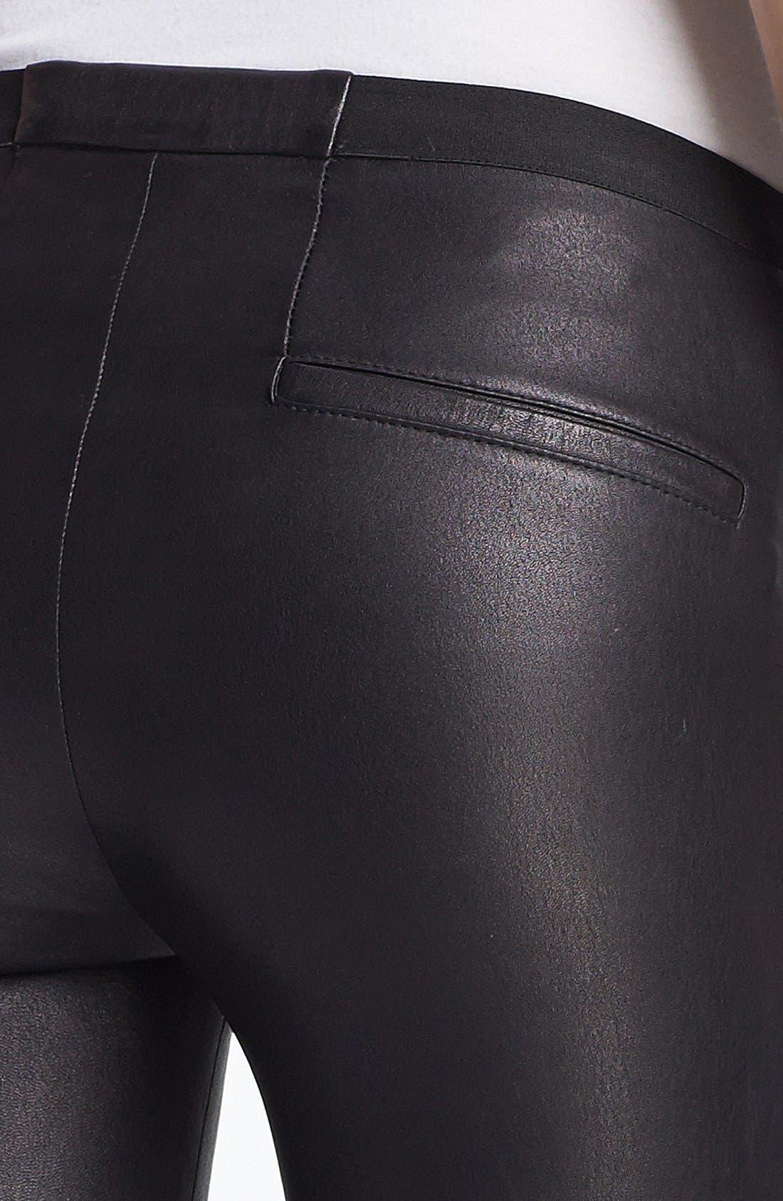 Alternate Image 3  - Helmut Lang Lambskin Leather Leggings