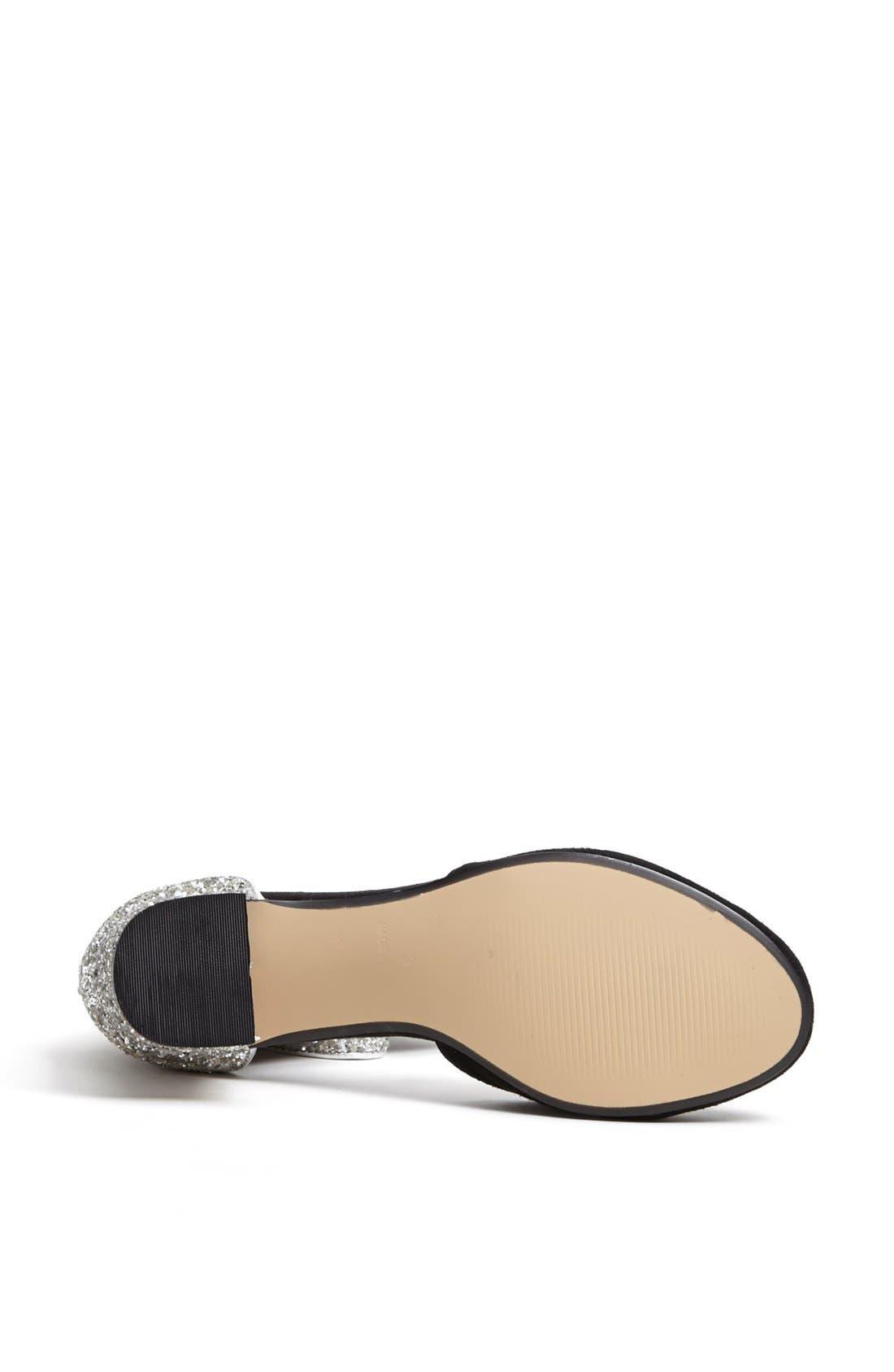 Alternate Image 4  - Topshop 'Juniper' Glitter Heel Pump