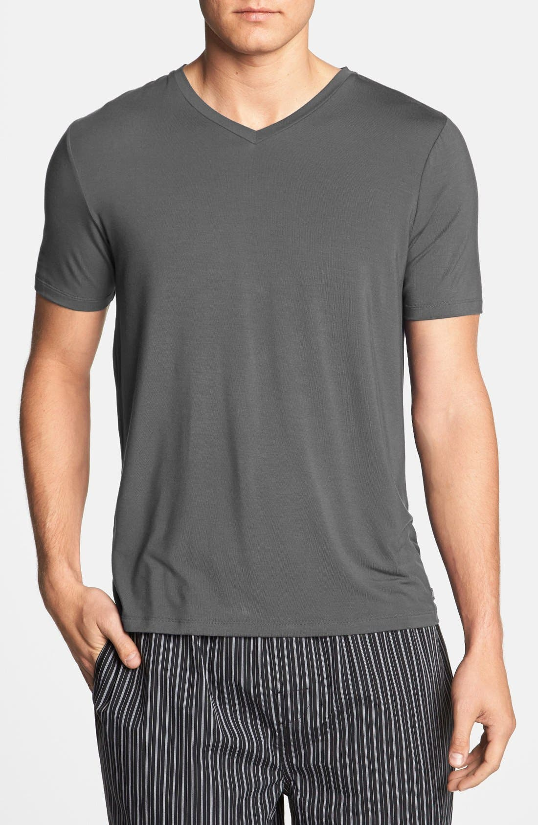 Alternate Image 1 Selected - Michael Kors V-Neck T-Shirt