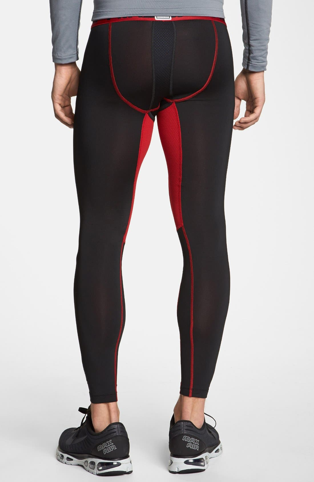 Alternate Image 2  - Nike Hyperwarm Dri-FIT Max Compression Athletic Leggings (Regular Retail Price: $60.00)
