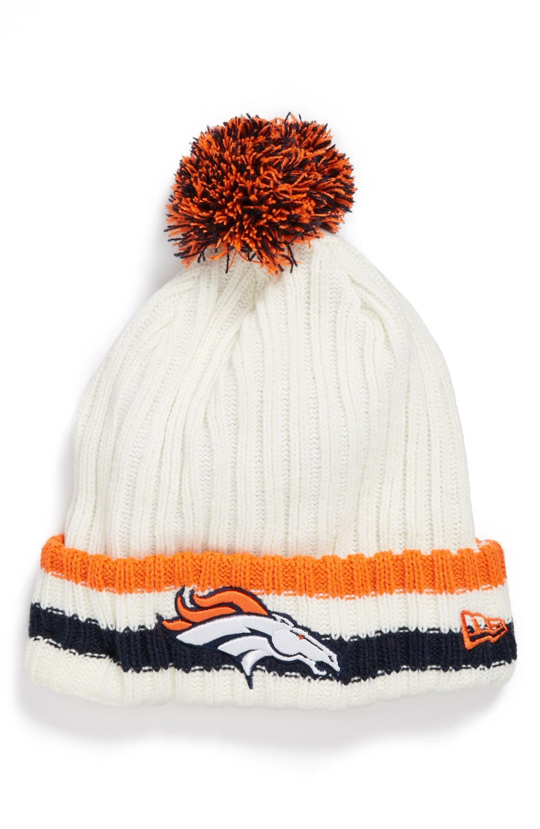 Main Image - New Era Cap 'Yesteryear - Denver Broncos' Knit Cap