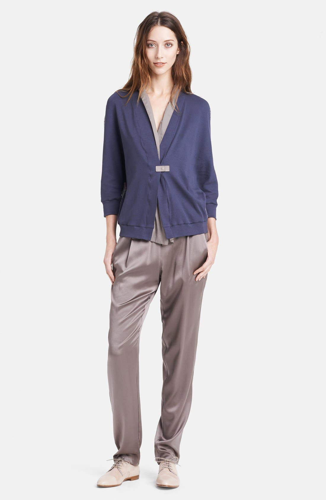 Alternate Image 1 Selected - Fabiana Filippi Cardigan & Pants