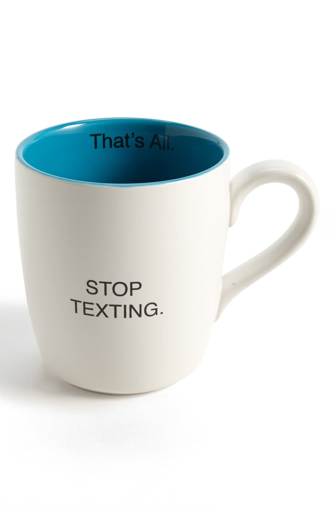 Alternate Image 1 Selected - 'That's All - Stop Texting' Mug