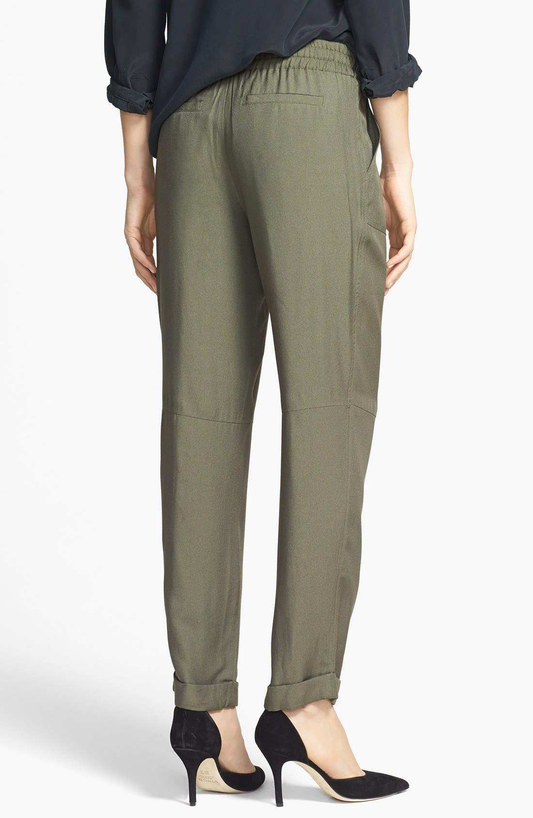 Alternate Image 2  - Joie 'Maxi' Tapered Leg Crepe Pants