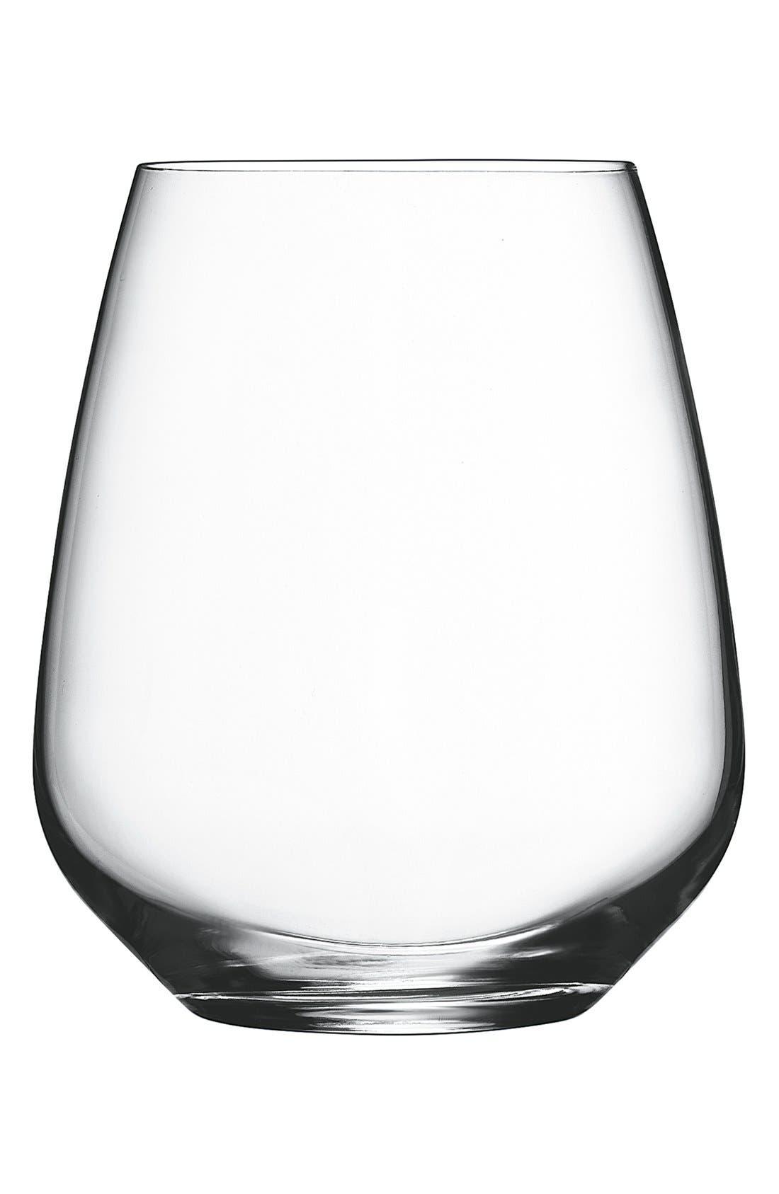 Luigi Bormioli 'Crescendo' Stemless Wine Glasses (Set of 4)