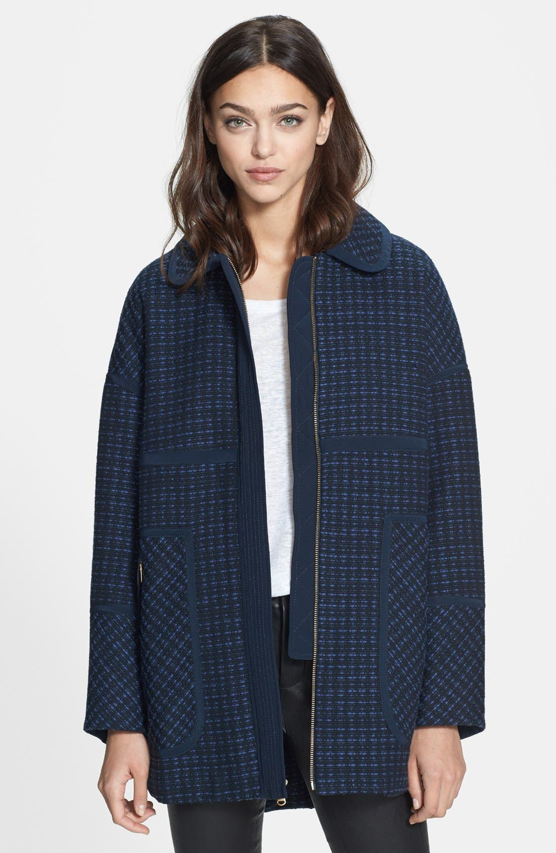 Alternate Image 1 Selected - MARC BY MARC JACOBS 'Casey' Tweed Coat