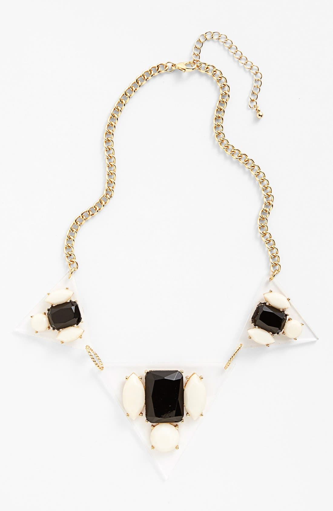 Alternate Image 1 Selected - Panacea Pyramid Necklace