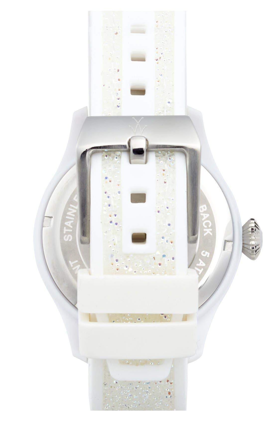 Alternate Image 2  - TOYWATCH 'Glitter' Silicone Strap Watch, 38mm