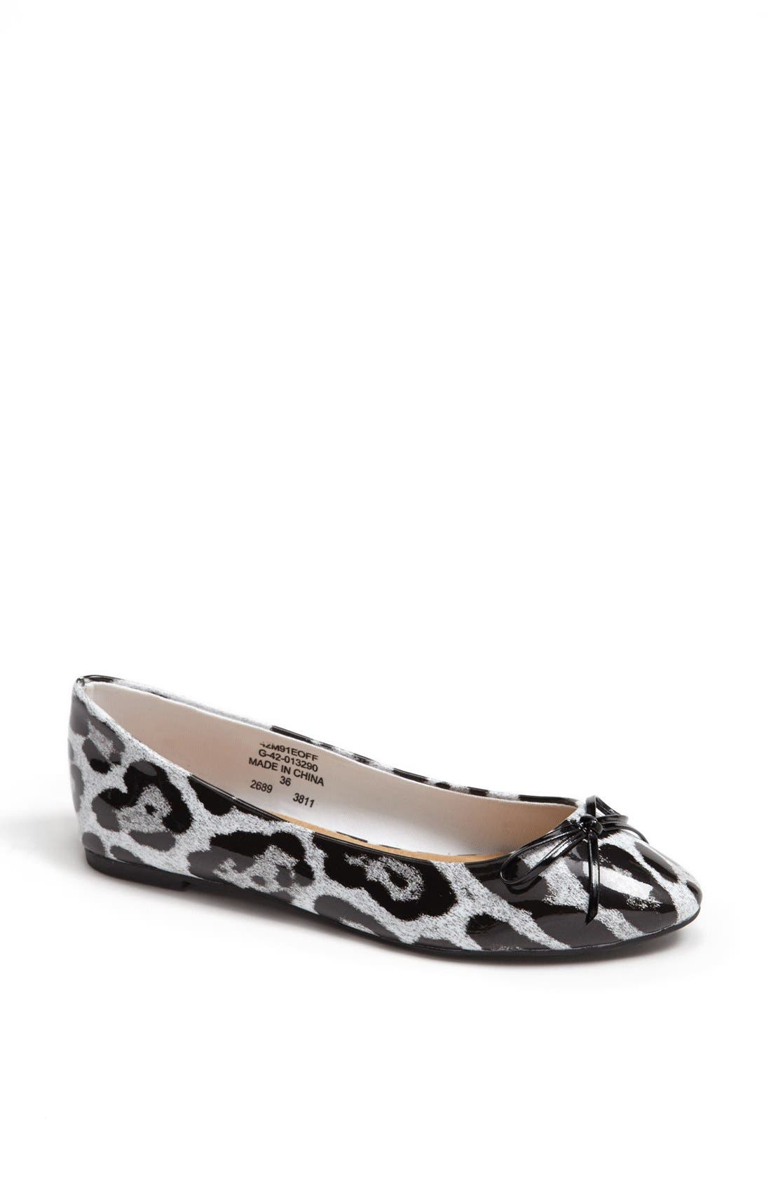 Alternate Image 1 Selected - Topshop 'Mixer' Ballet Flat