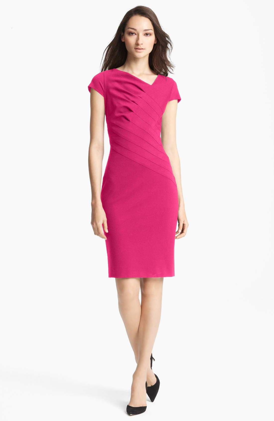 Main Image - ESCADA Cap Sleeve Dress