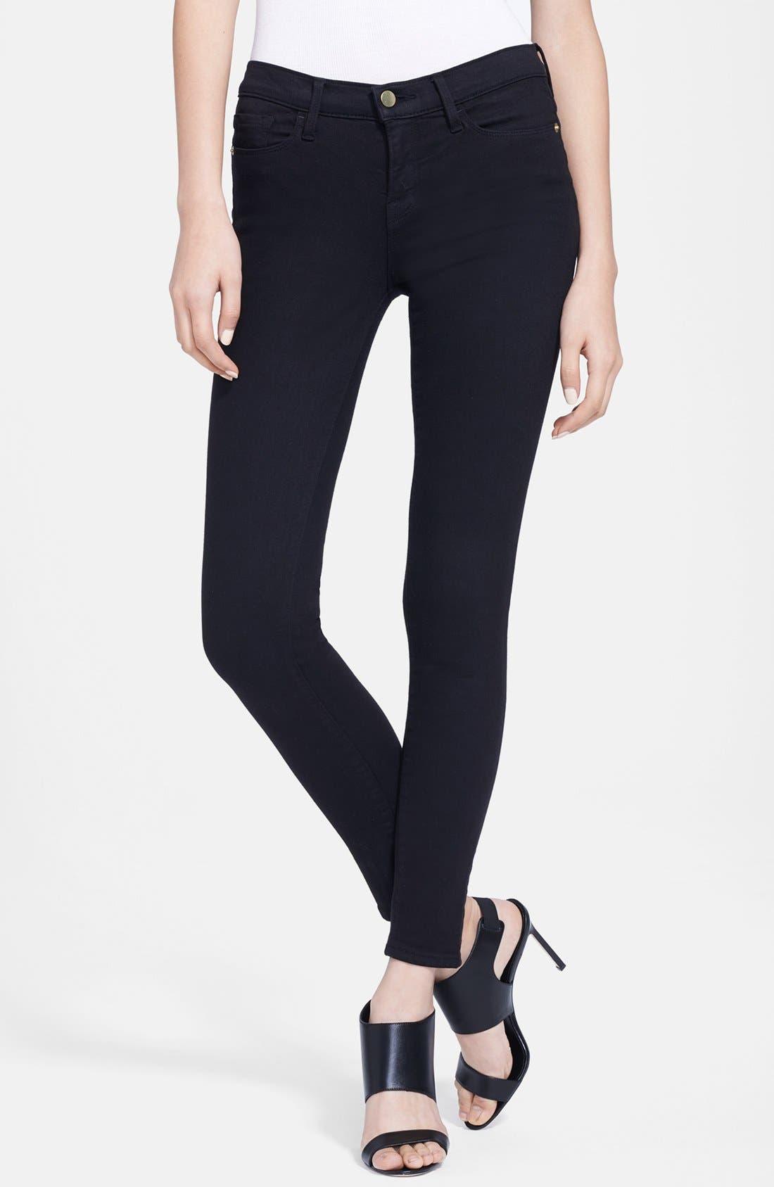 Alternate Image 1 Selected - FRAME Le Color Skinny Jeans