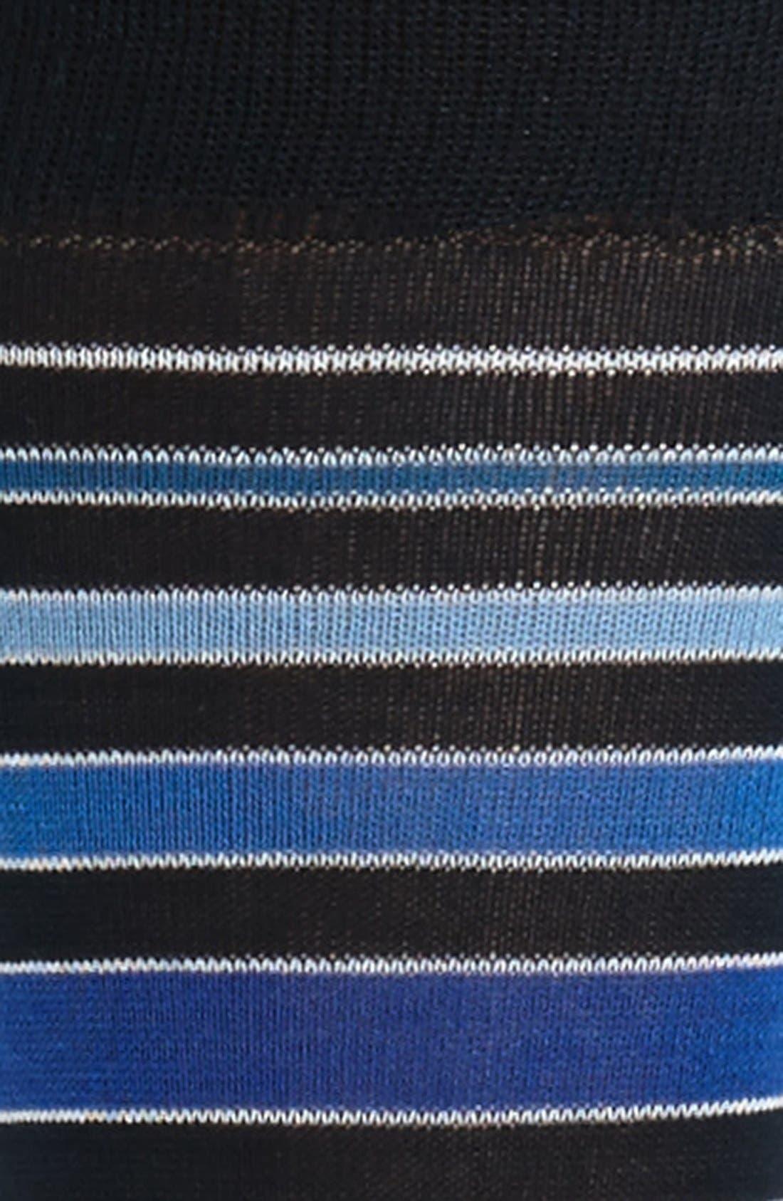 Alternate Image 2  - Bugatchi Stripe Socks