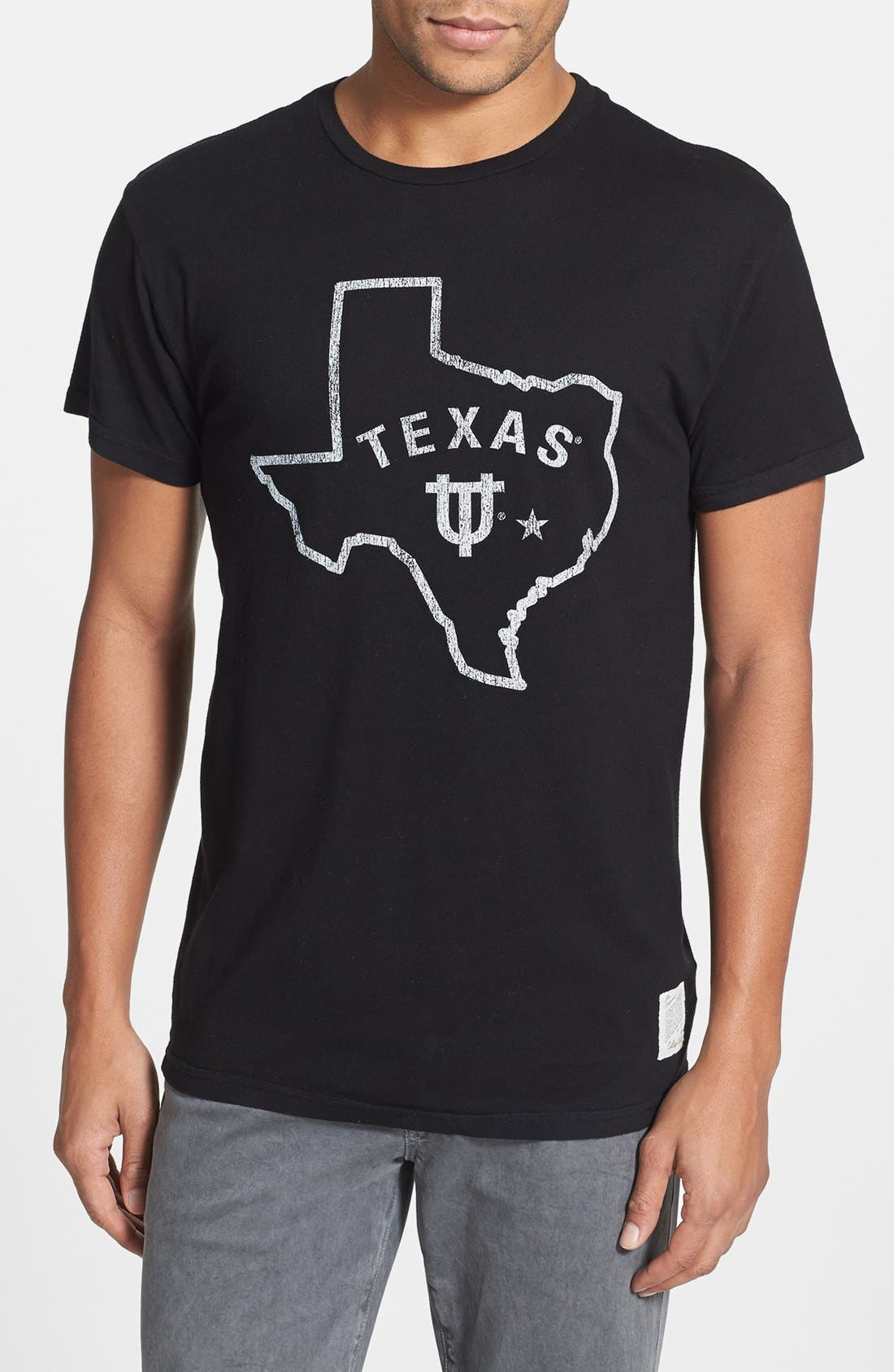 Alternate Image 1 Selected - Retro Brand 'University of Texas' Graphic T-Shirt