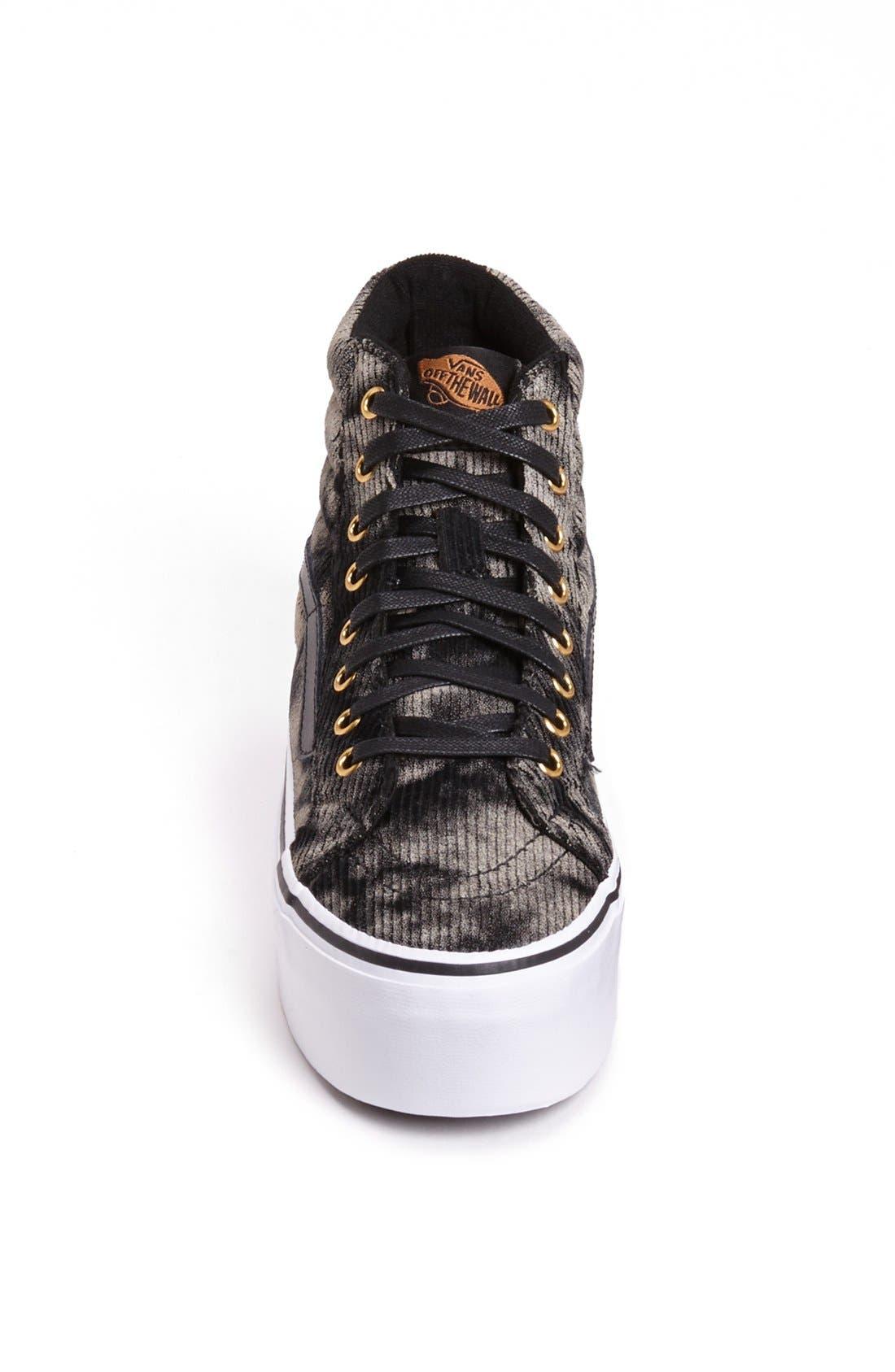 Alternate Image 3  - Vans 'Sk8 HI' Studded Platform Sneaker