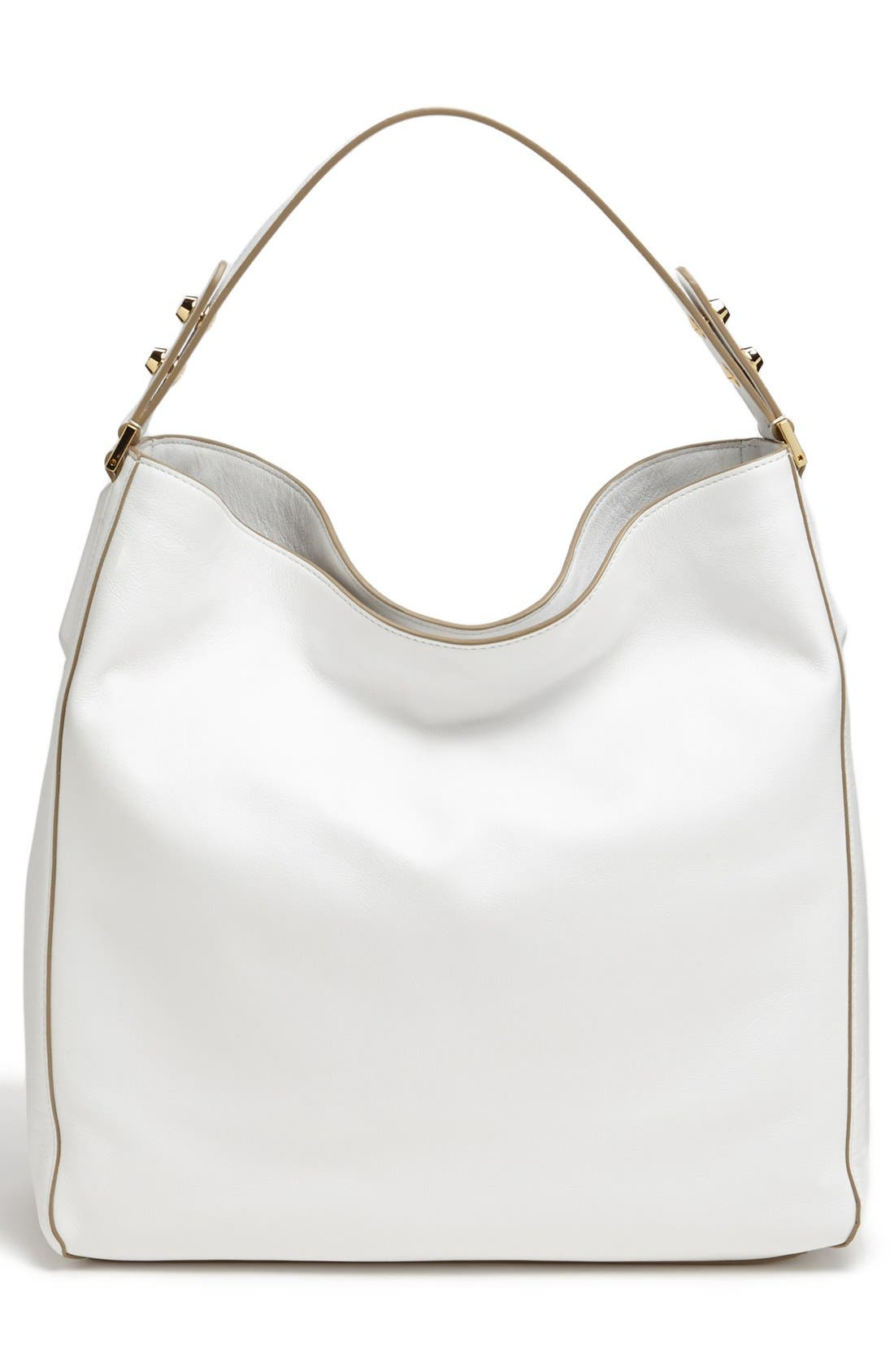 Alternate Image 4  - Michael Kors 'Miranda - Zips' Leather Hobo