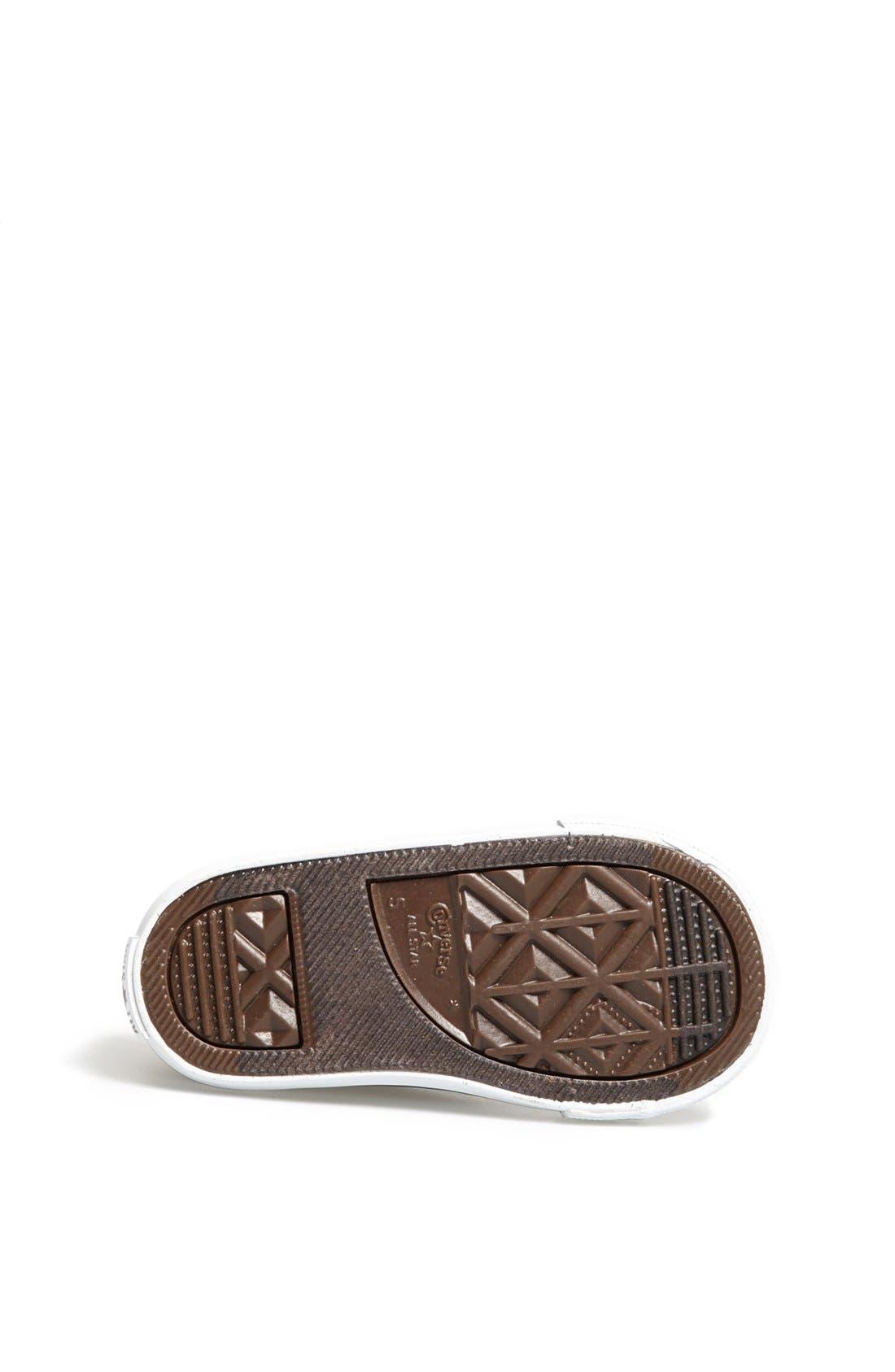 Alternate Image 4  - Converse Chuck Taylor® All Star® Sneaker (Baby, Walker & Toddler)