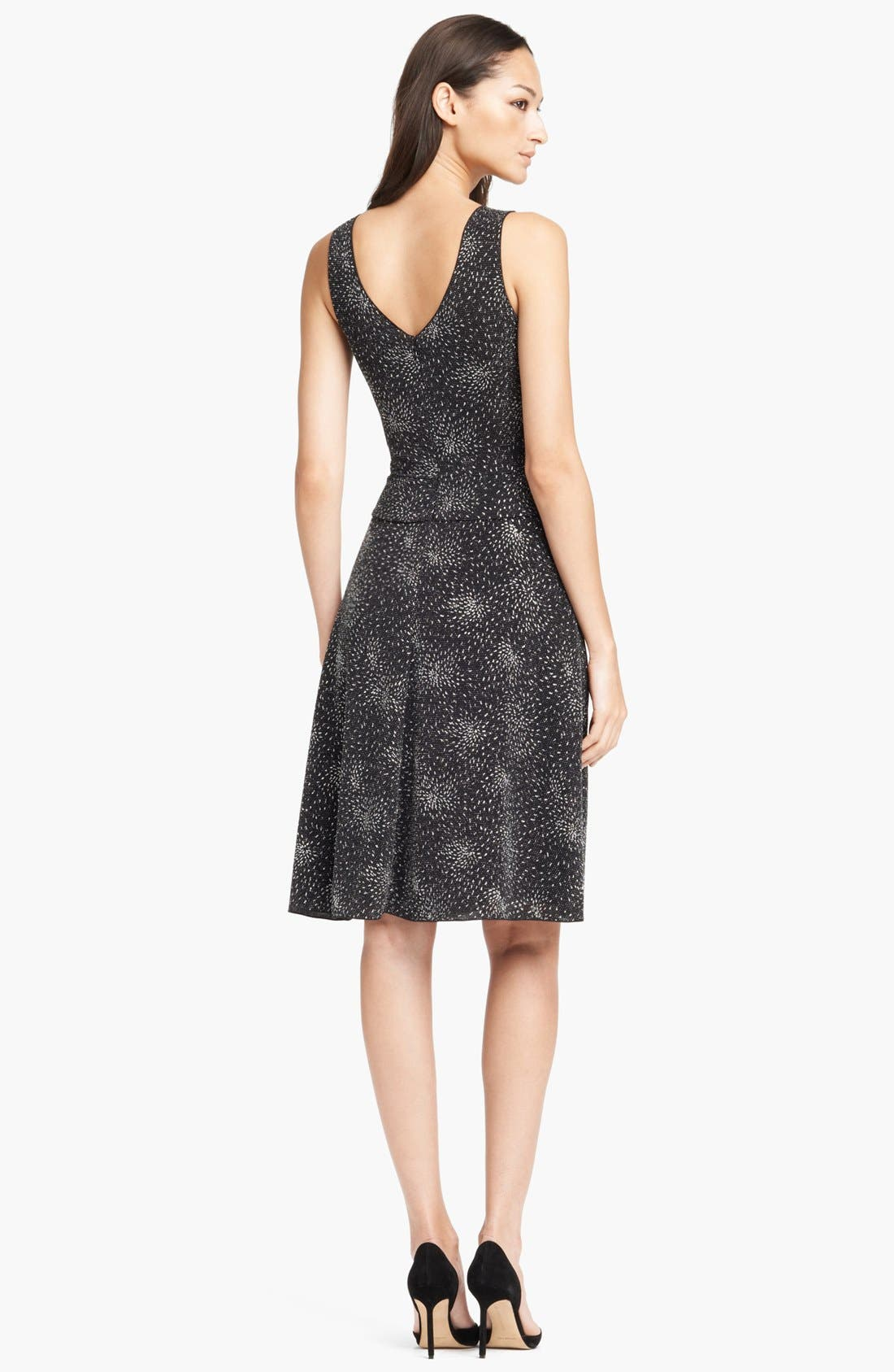 Alternate Image 2  - Armani Collezioni Full Skirt Knit Dress