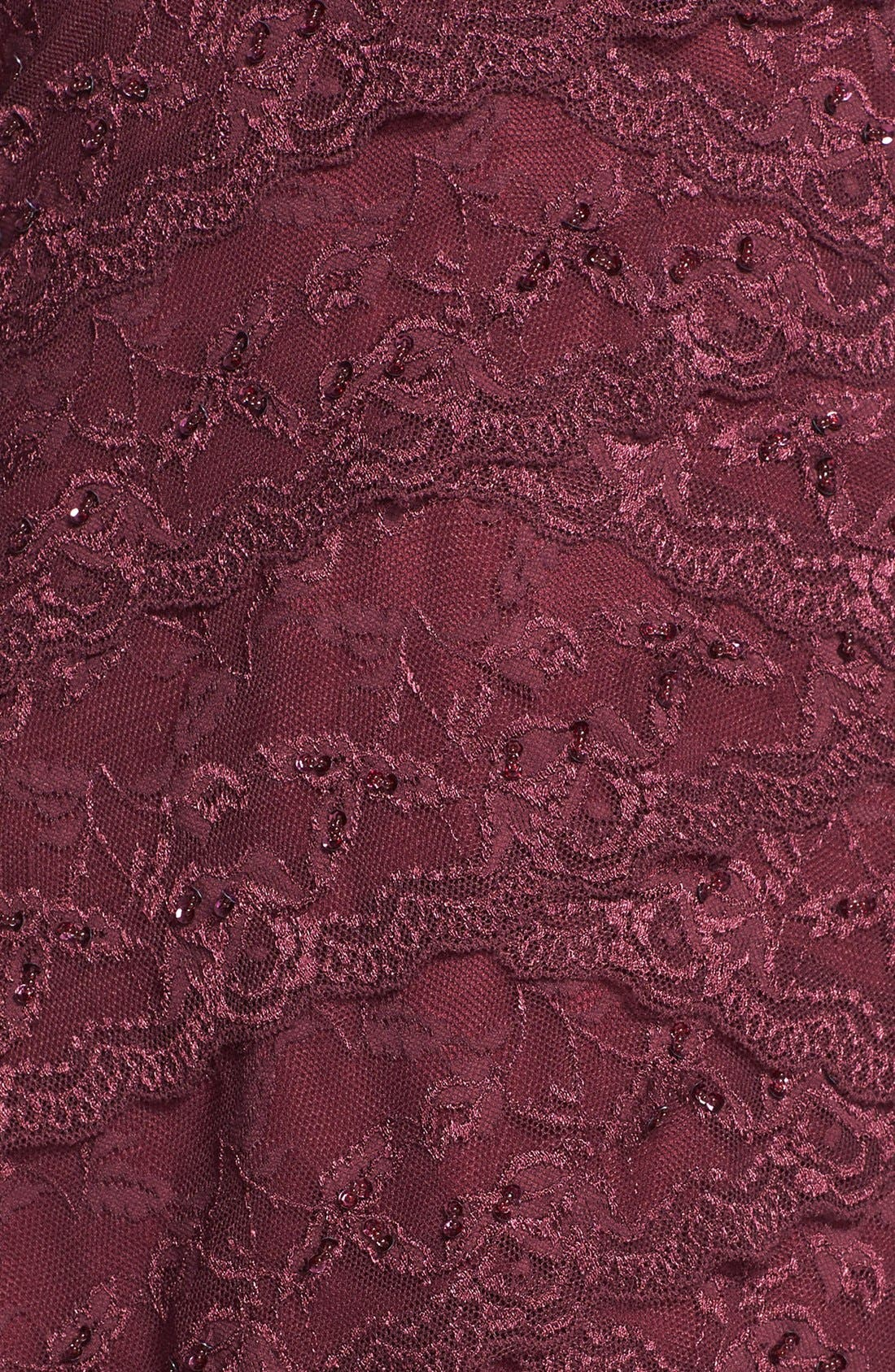 Alternate Image 4  - Marina Tiered Lace Dress (Regular & Petite)