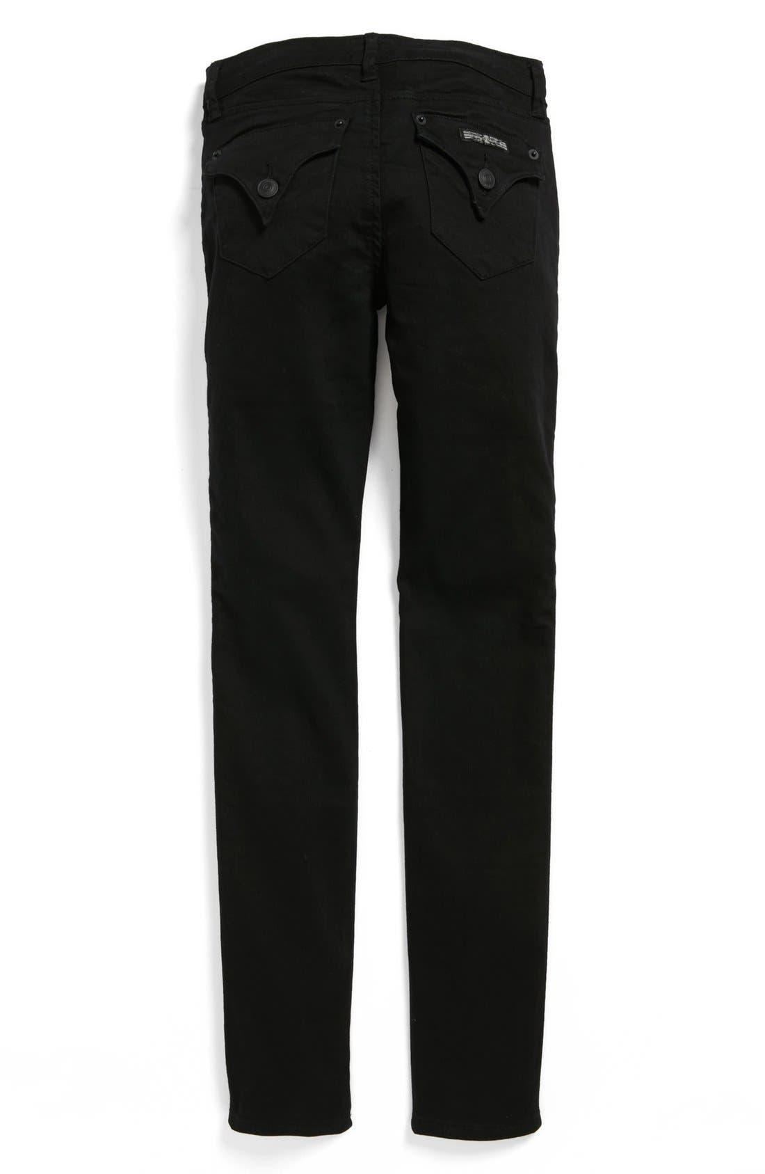 Alternate Image 2  - Hudson Kids 'Collin' Skinny Jeans (Vice Versa) (Big Girls)