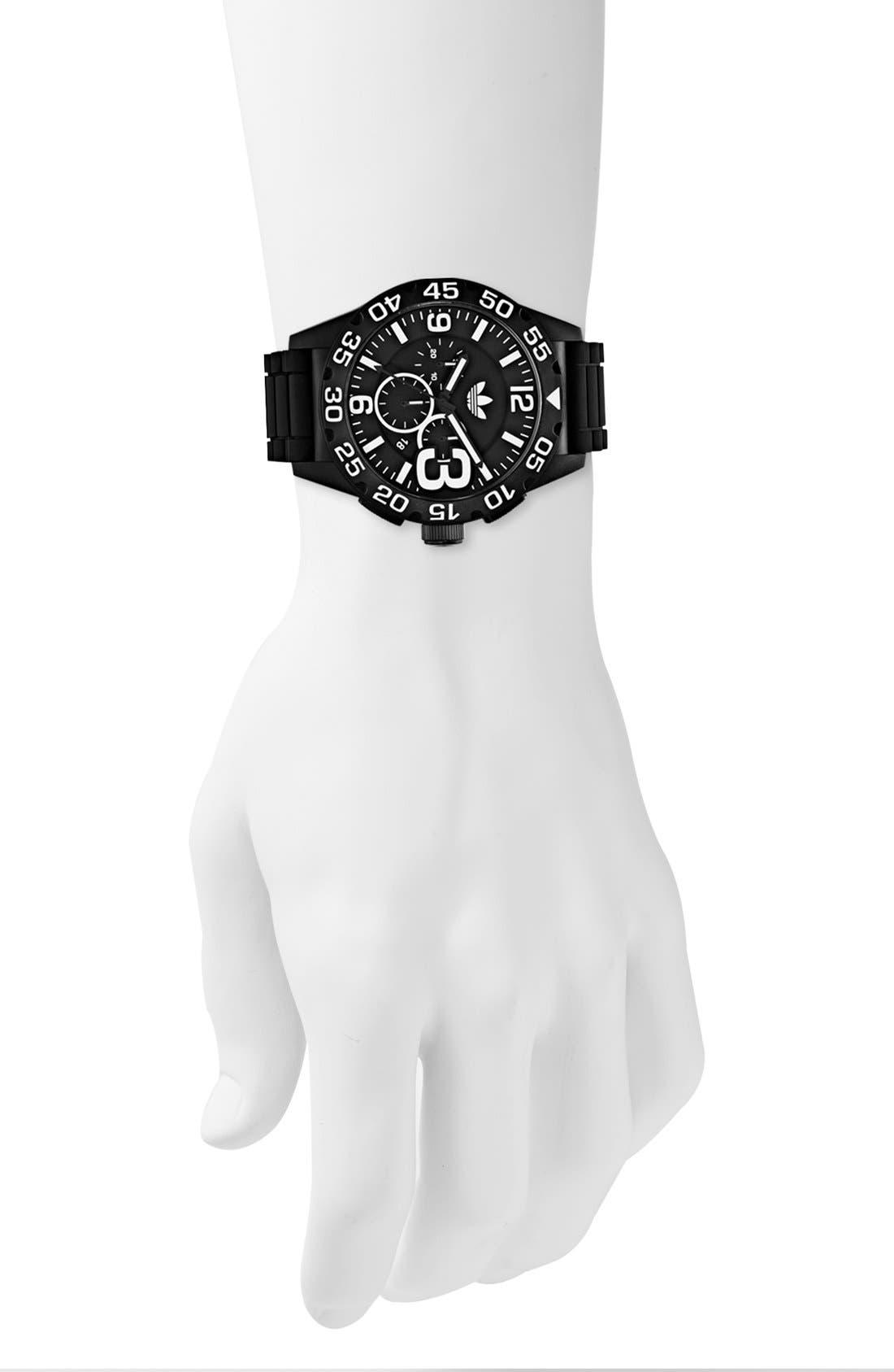 Alternate Image 2  - adidas Originals 'Newburgh' Chronograph Watch, 48mm