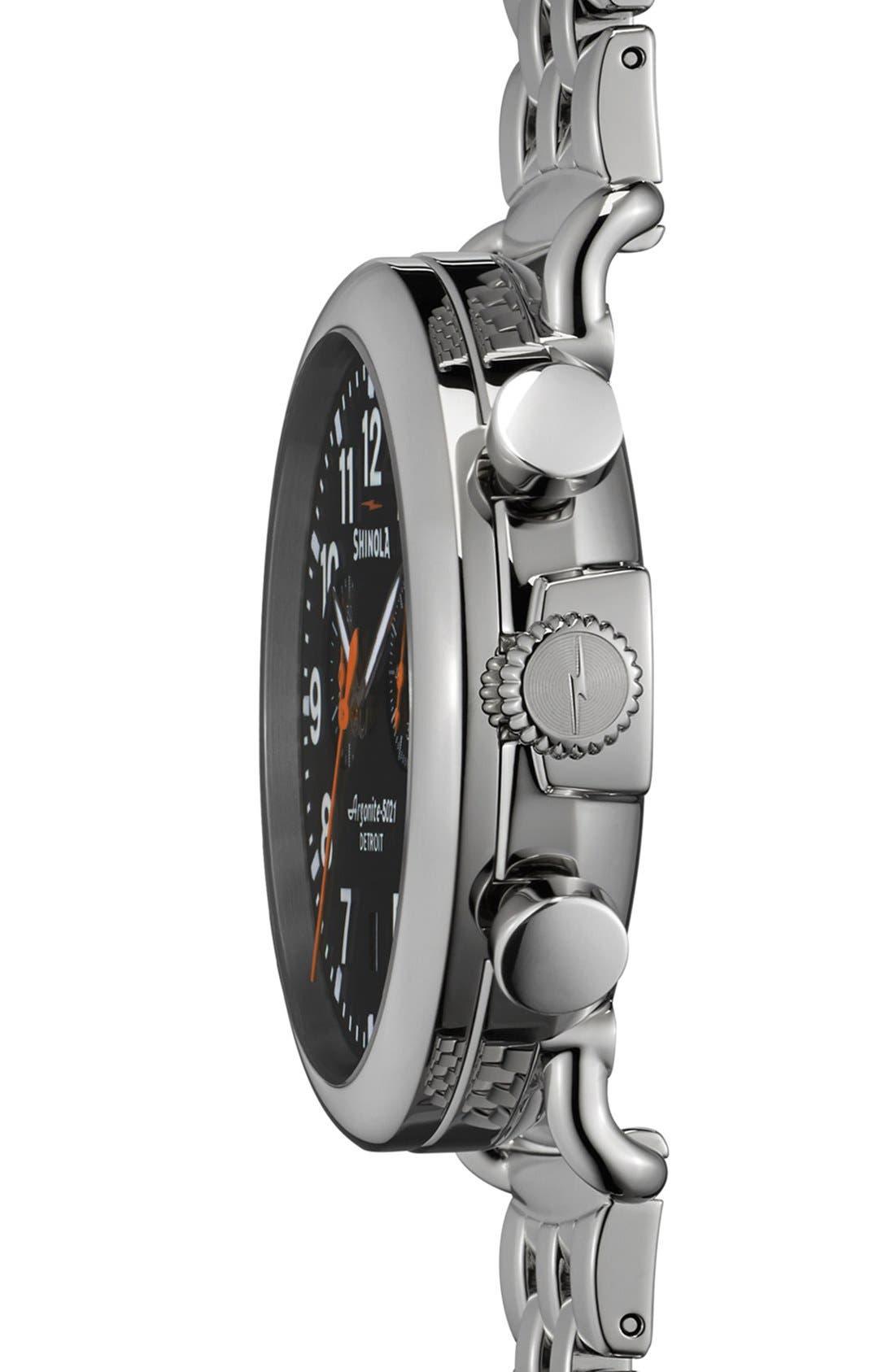 Alternate Image 3  - Shinola 'The Runwell Chrono' Bracelet Watch, 41mm