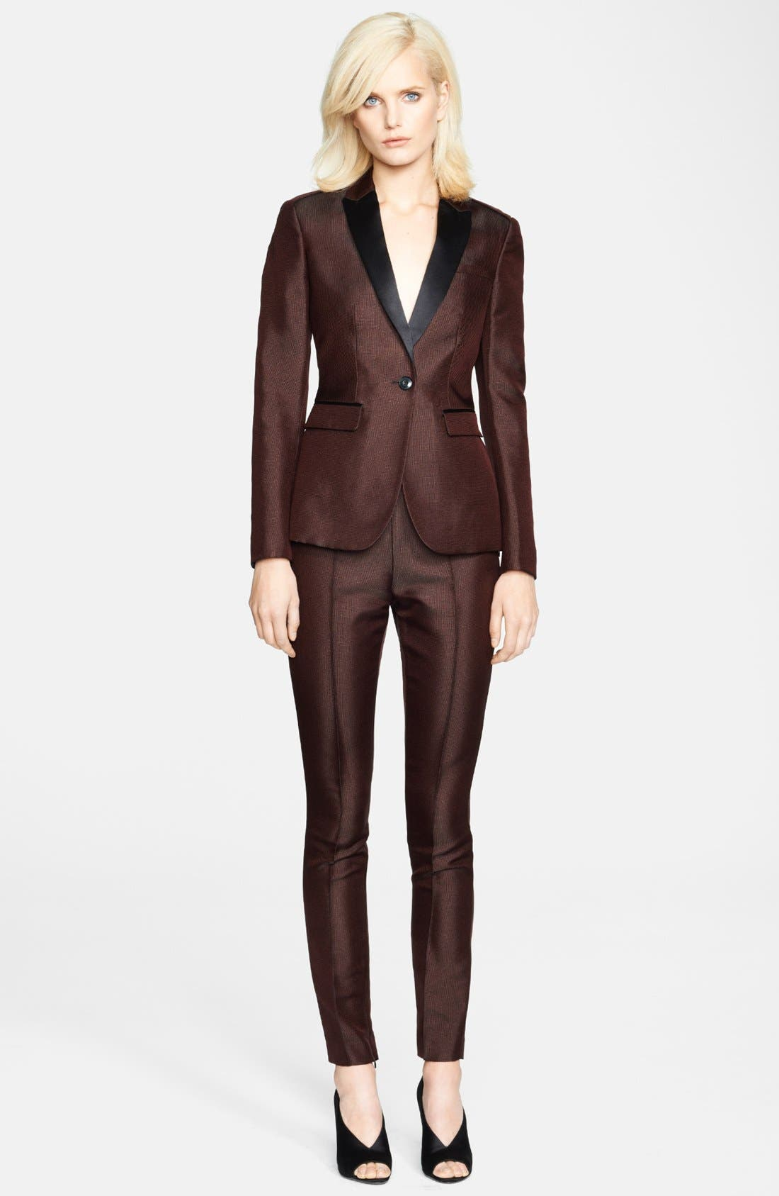 Alternate Image 4  - Burberry London Slim Ankle Zip Pants