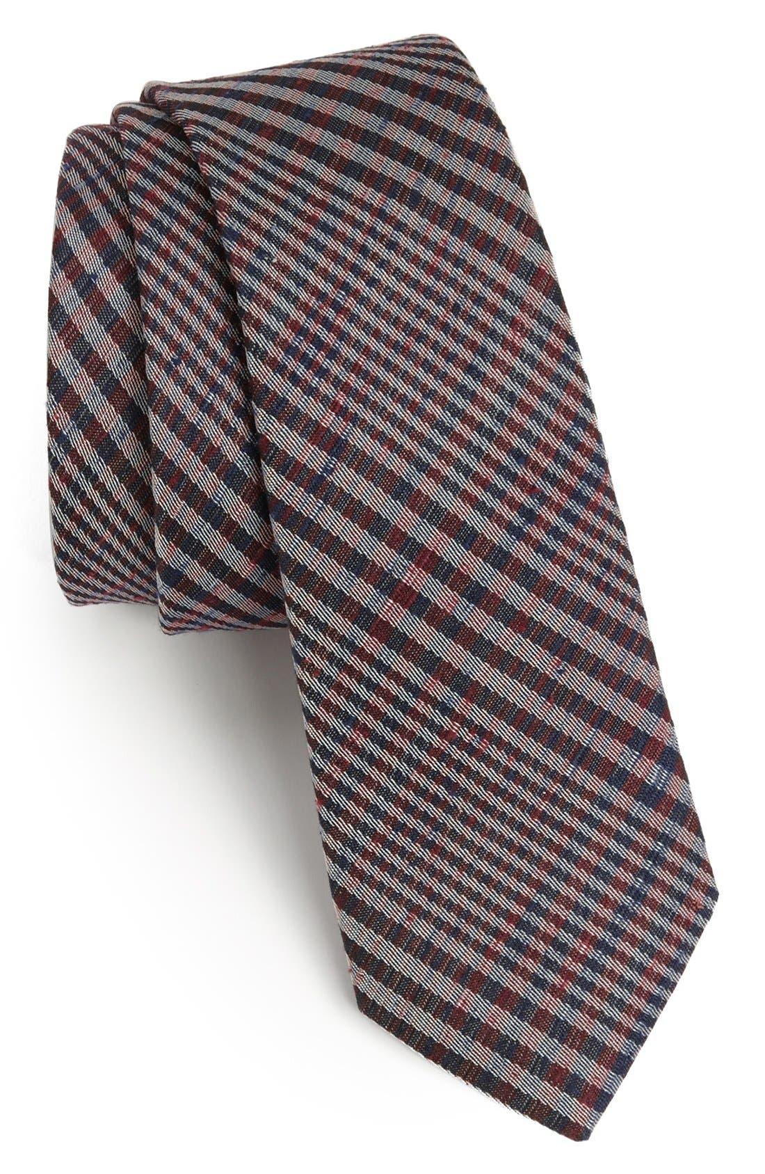 Main Image - rag & bone Woven Silk Tie