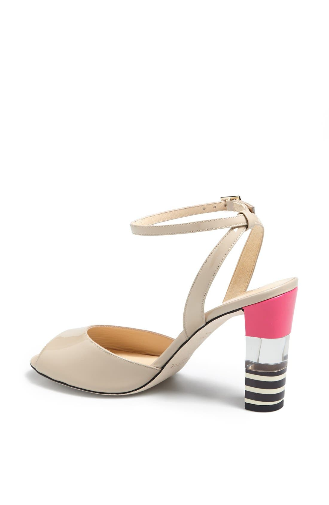 Alternate Image 2  - kate spade new york 'ice' leather sandal