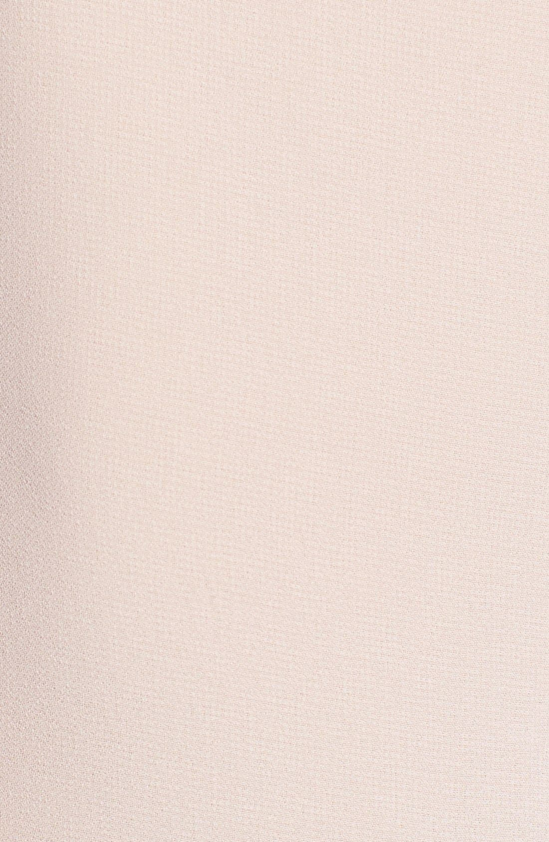 Alternate Image 3  - ASTR Embellished Neck Chiffon Tee