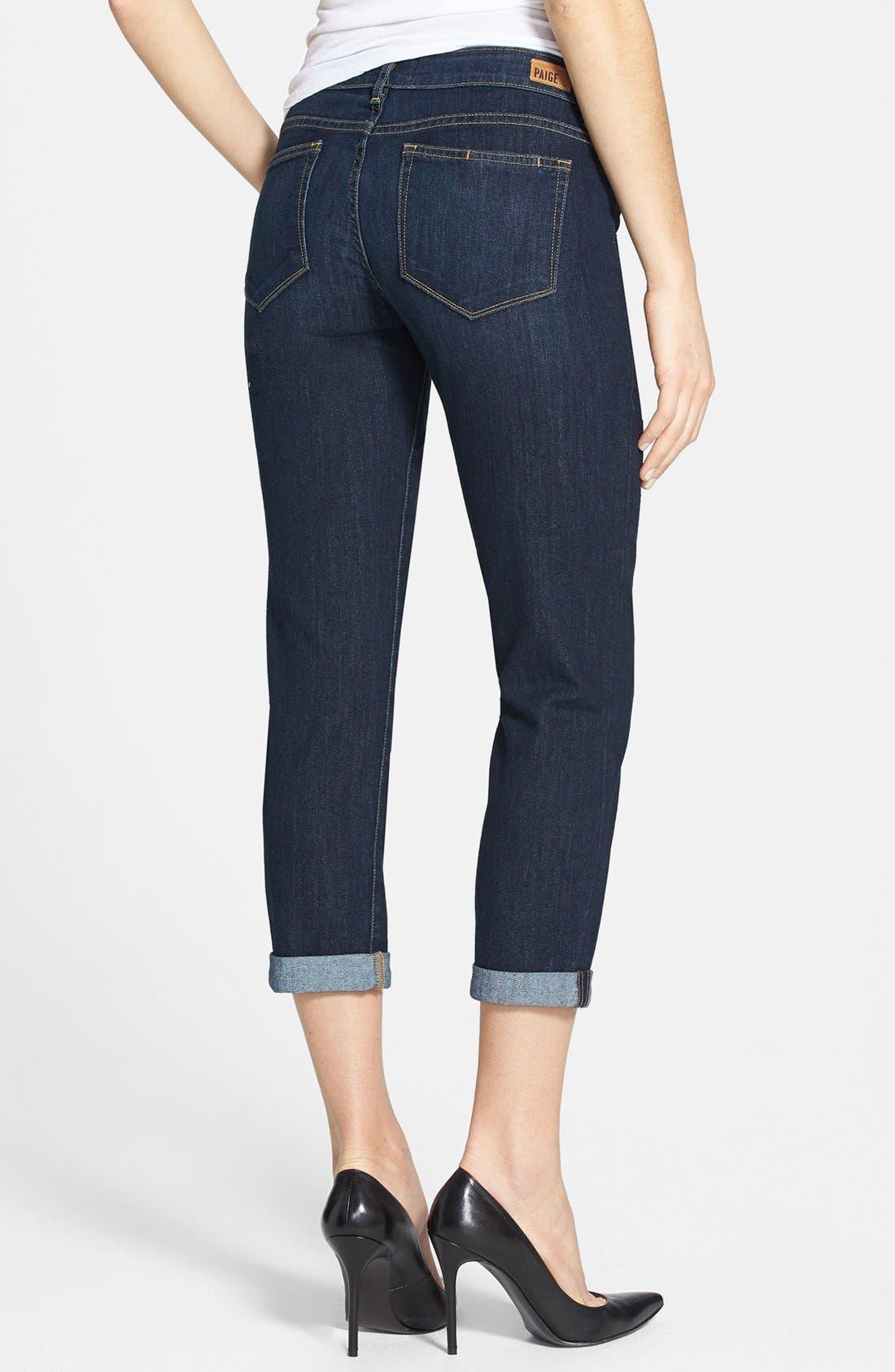 Alternate Image 2  - Paige Denim 'Jimmy Jimmy' Crop Skinny Jeans (Highland)