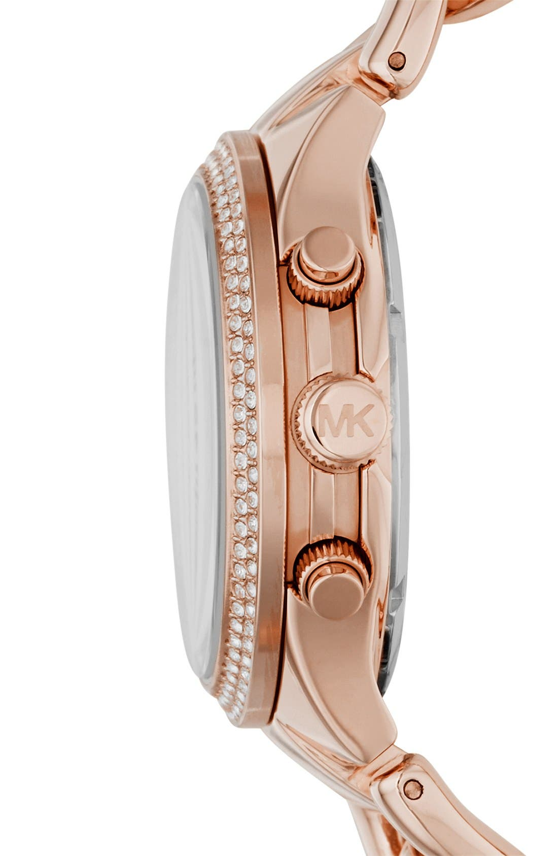 Alternate Image 3  - Michael Kors 'Runway' Chain Bracelet Watch, 38mm