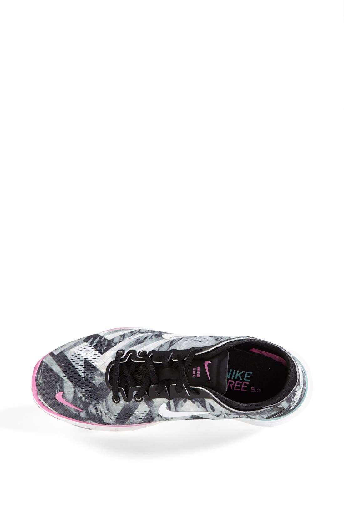 Alternate Image 3  - Nike 'Free 5.0 TR Fit 4' Print Training Shoe (Women)