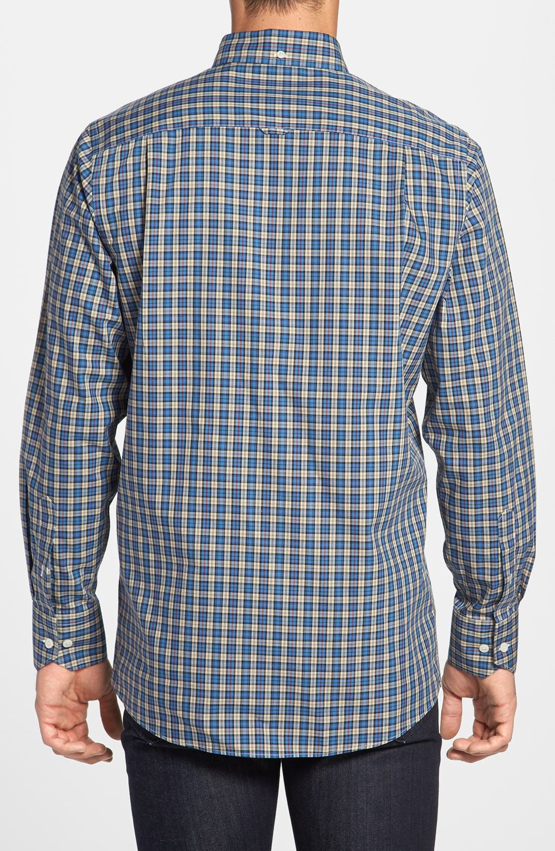 Alternate Image 2  - Nordstrom Smartcare™ Regular Fit Plaid Sport Shirt
