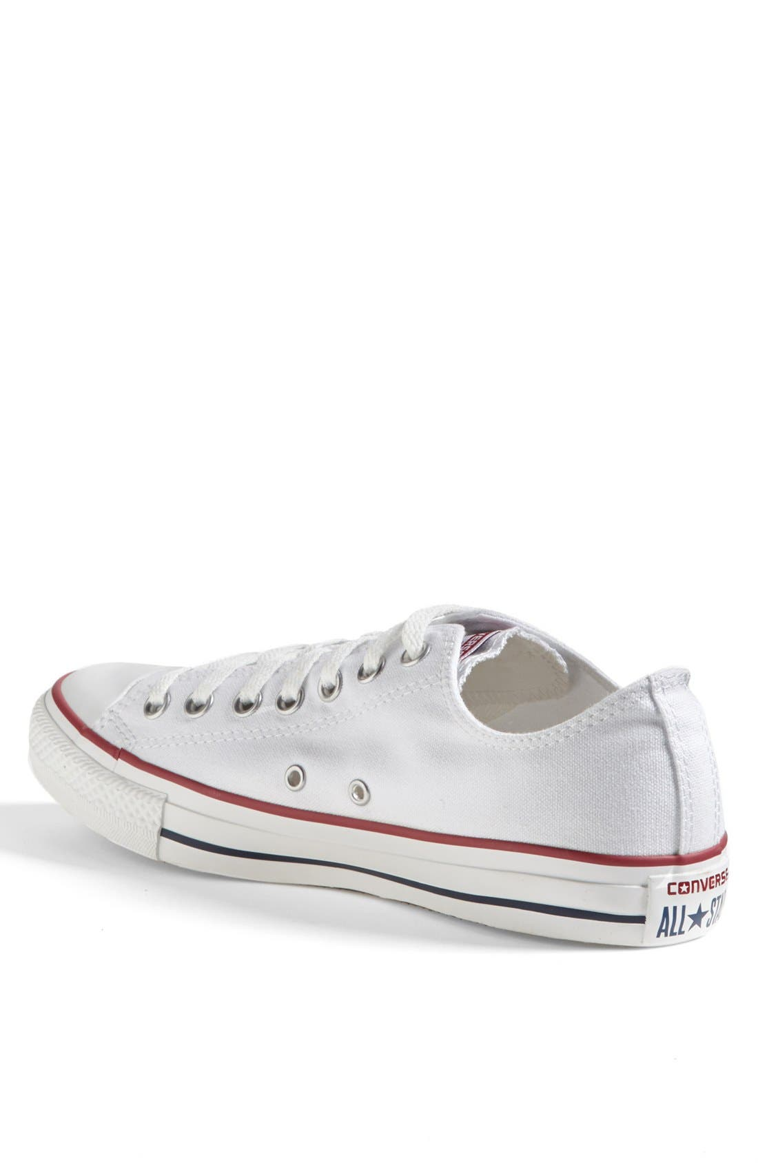 Chuck Taylor<sup>®</sup> Low Sneaker,                             Alternate thumbnail 2, color,                             White