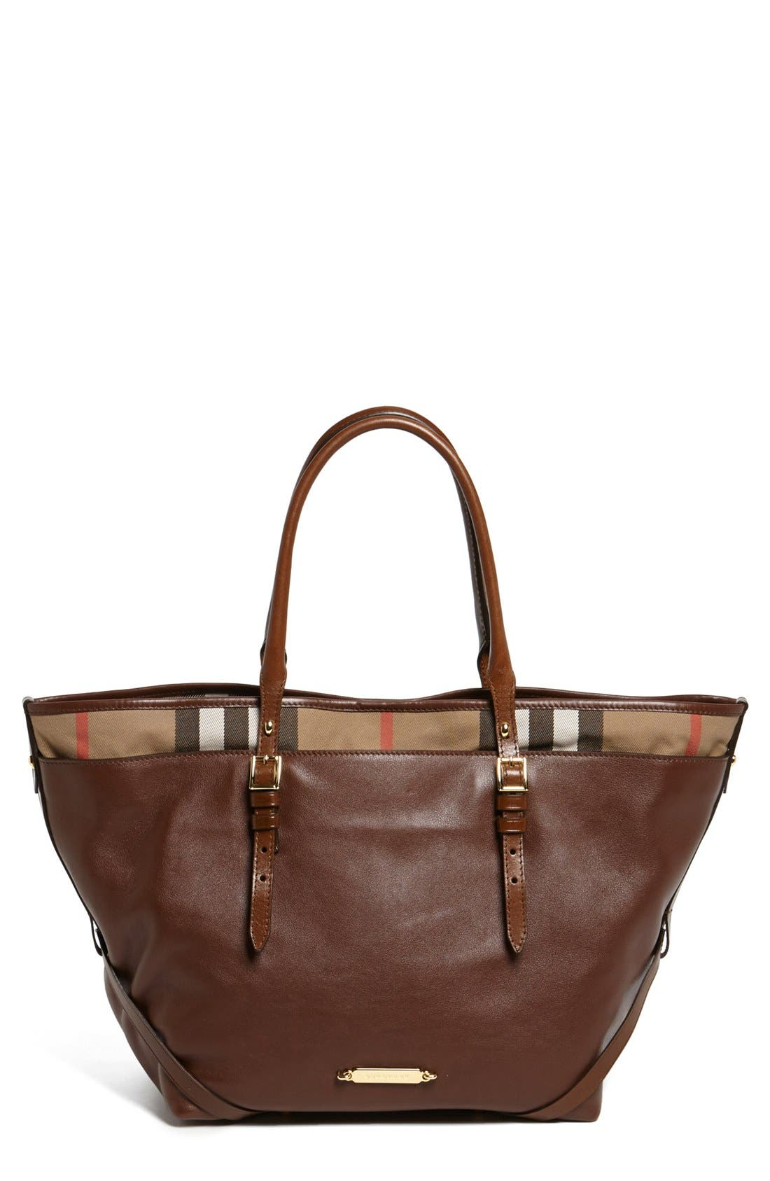 Alternate Image 1 Selected - Burberry 'Medium Salisbury' Leather Tote