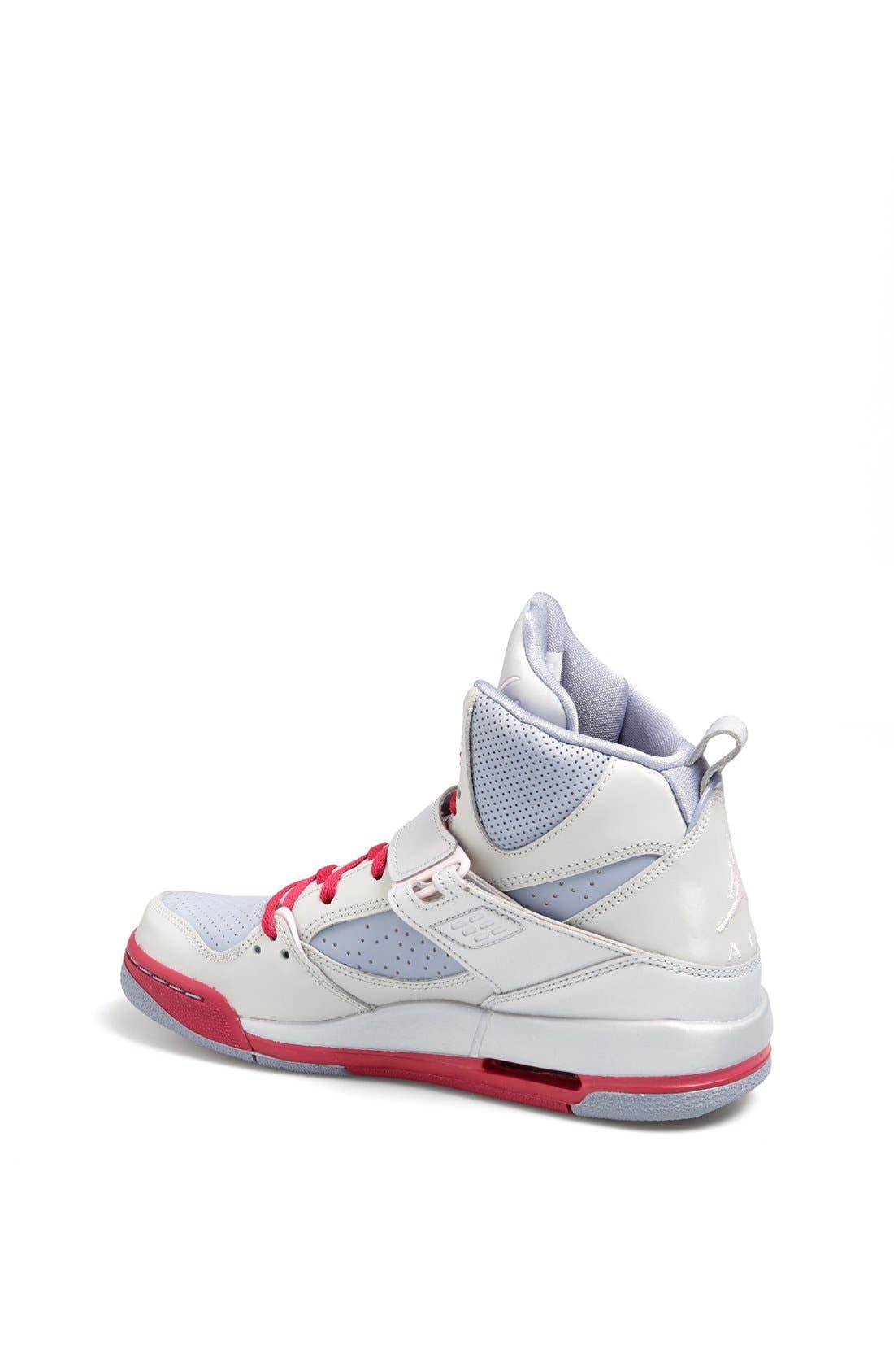 Alternate Image 2  - Nike 'Jordan Flight 45' High Athletic Shoe (Big Kid)